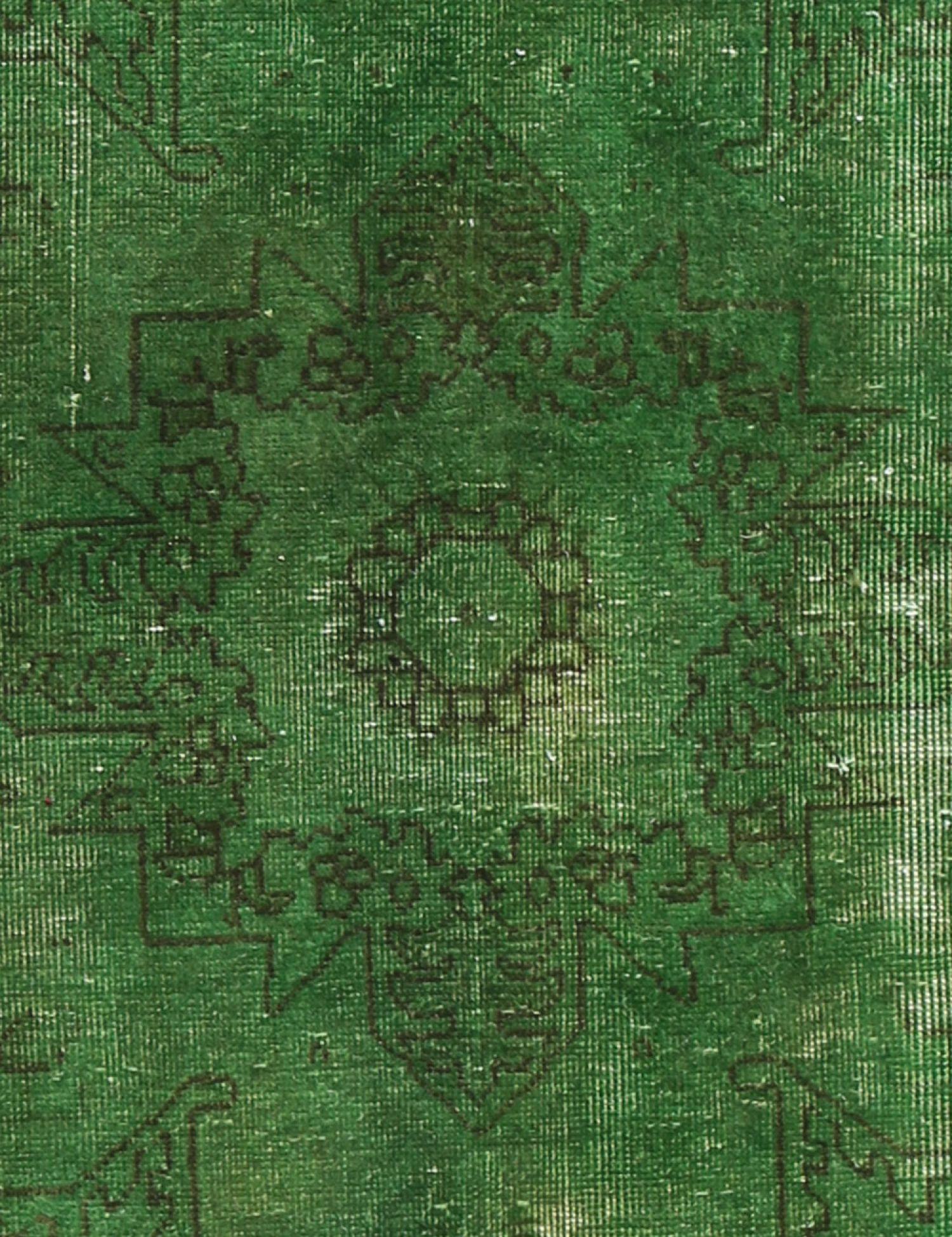 Vintage Teppich  grün <br/>257 x 159 cm