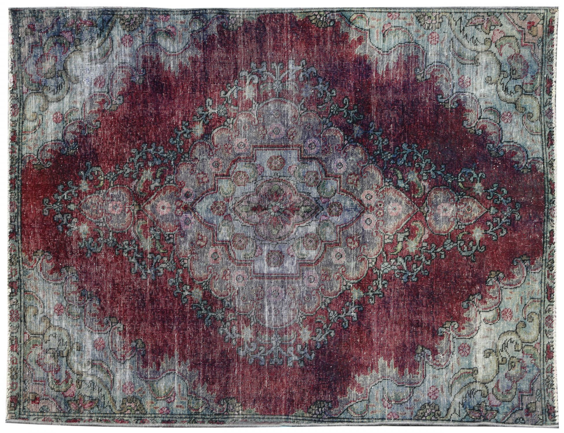 Vintage Teppich  grau <br/>218 x 148 cm