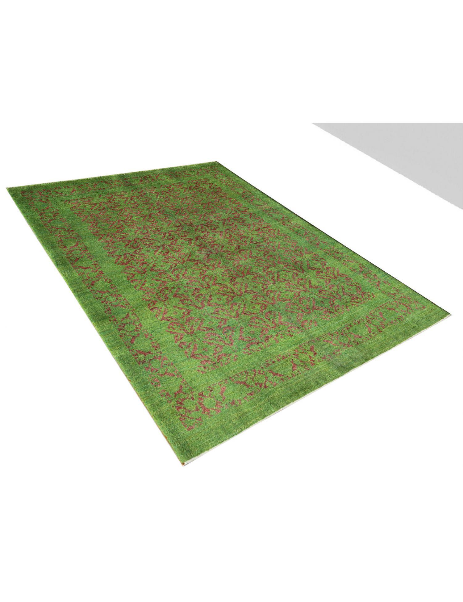 Perser Gabbeh  grün <br/>196 x 150 cm