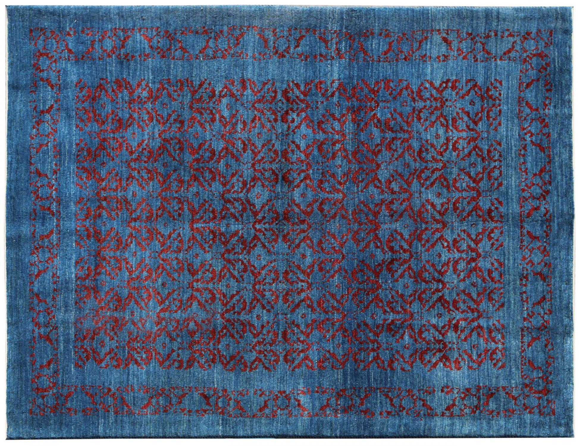 Perser Gabbeh  blau <br/>190 x 150 cm