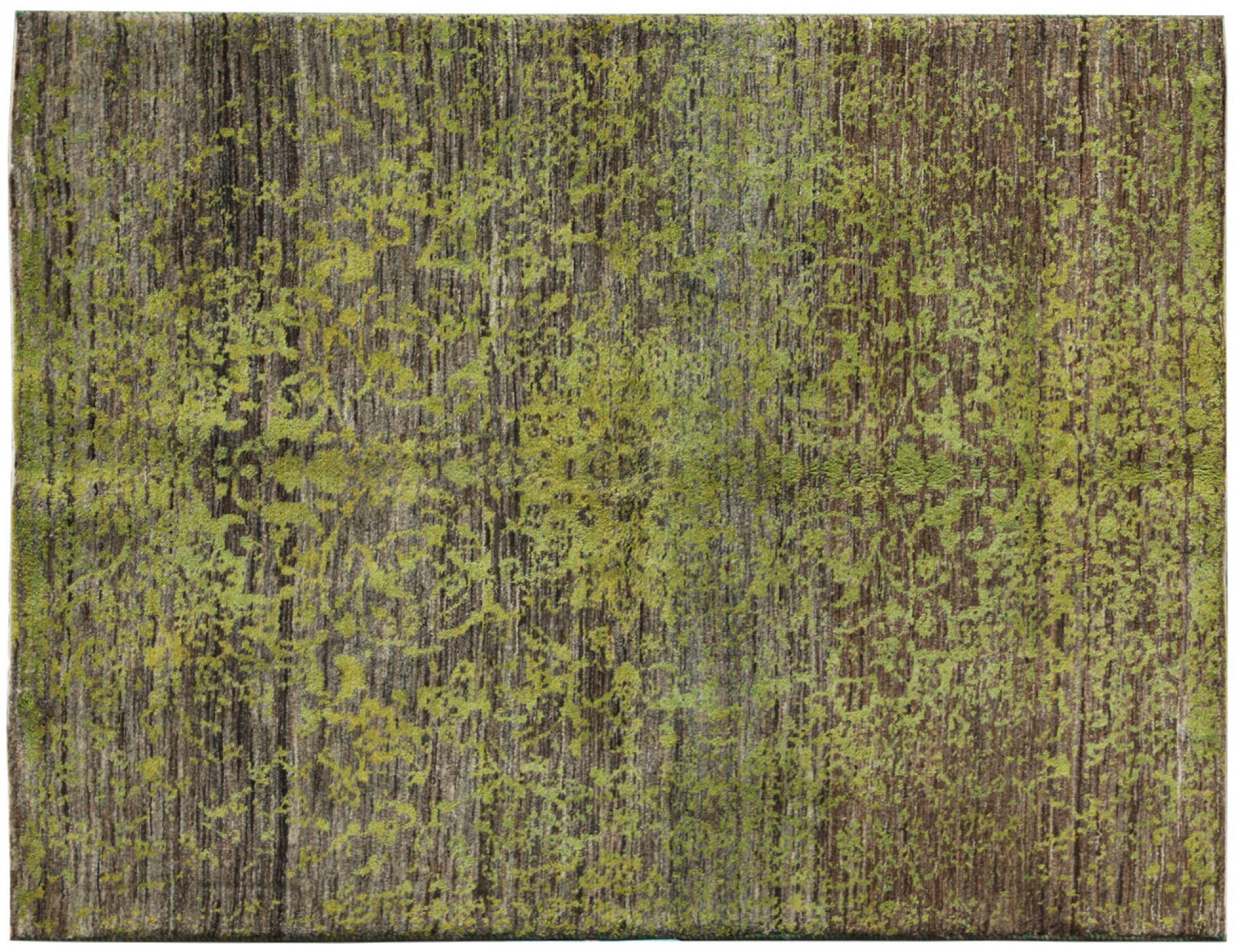 Moderne Teppiche  grün <br/>208 x 144 cm