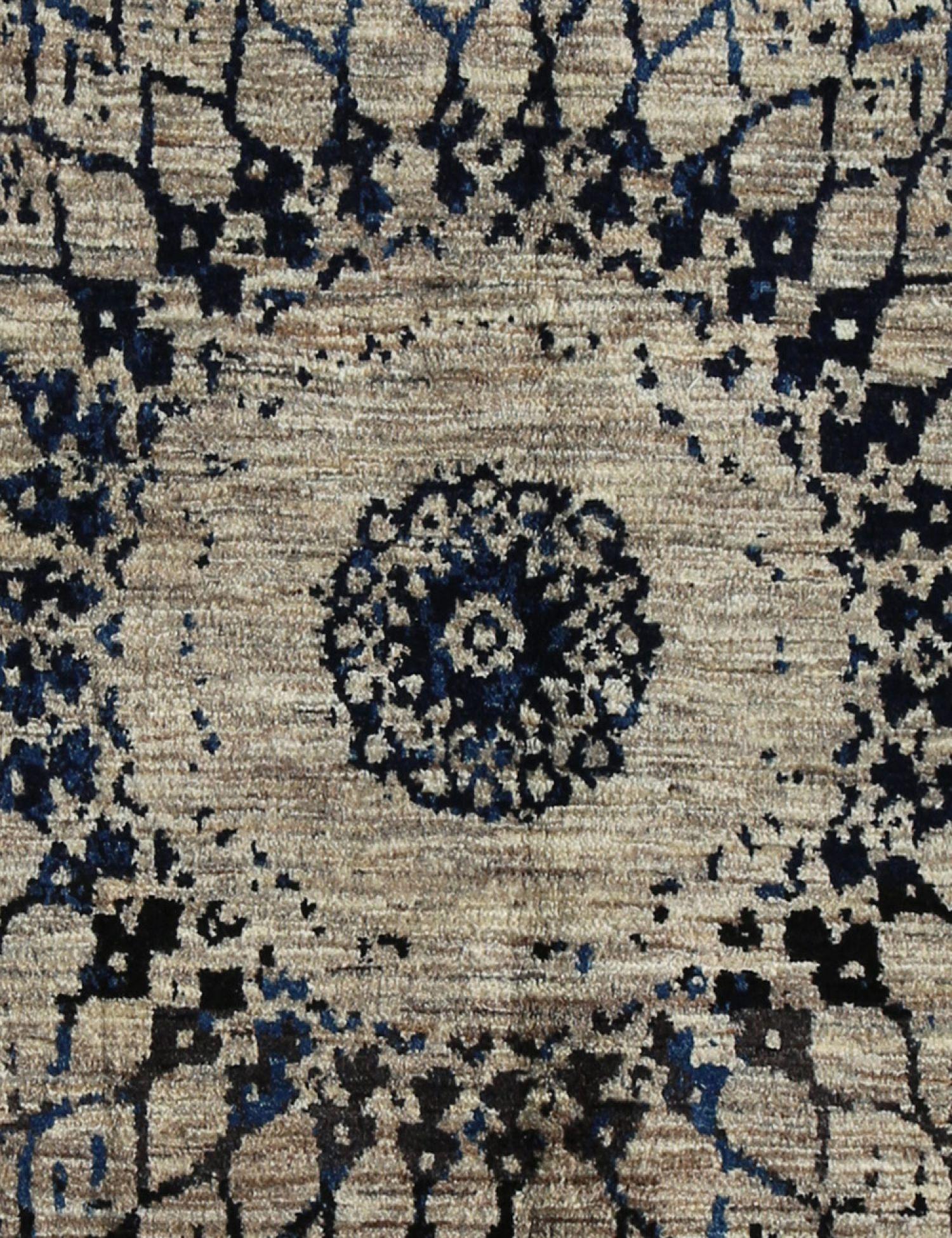 Moderne tæpper  blå <br/>318 x 194 cm