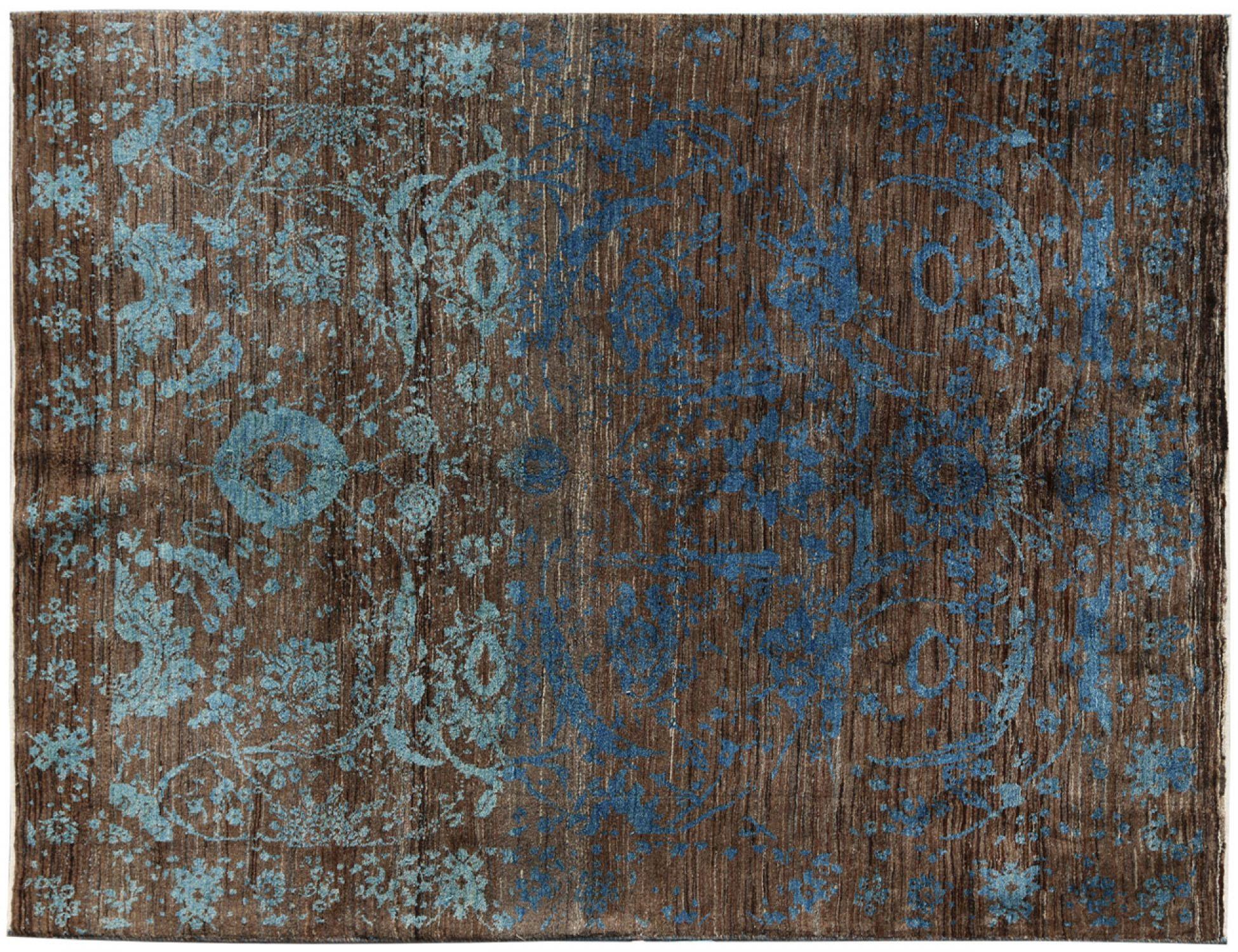 Moderne tæpper  blå <br/>238 x 165 cm