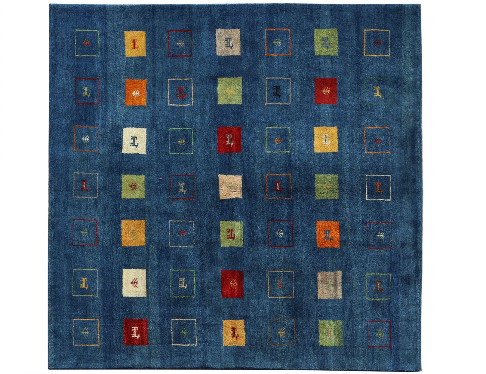 Moderne Teppiche  blau <br/>195 x 204 cm