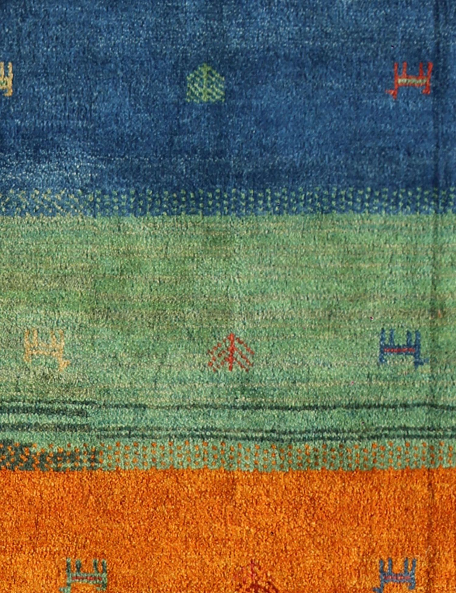 Moderne Teppiche  blau <br/>244 x 182 cm