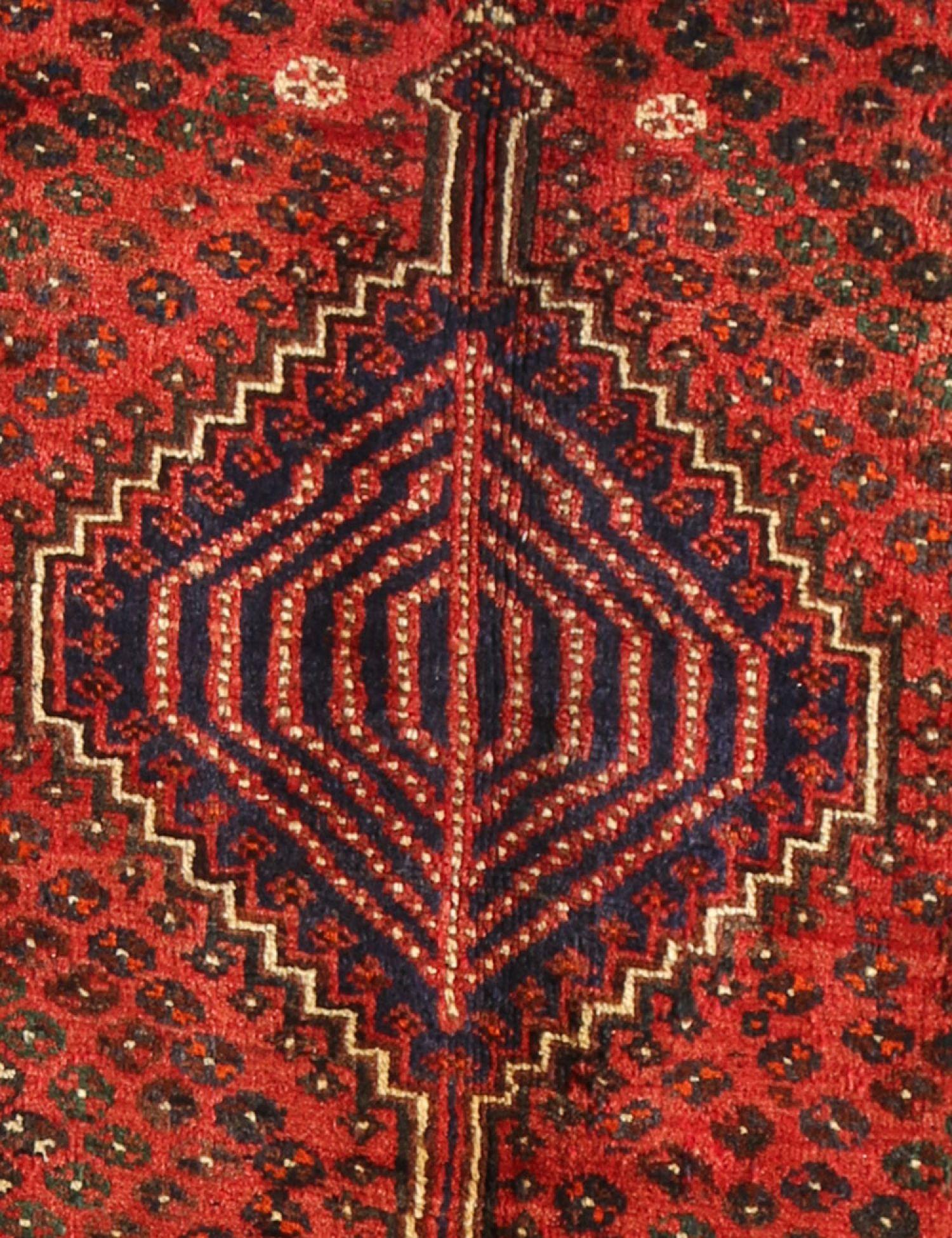 Perserteppich  rot <br/>202 x 155 cm