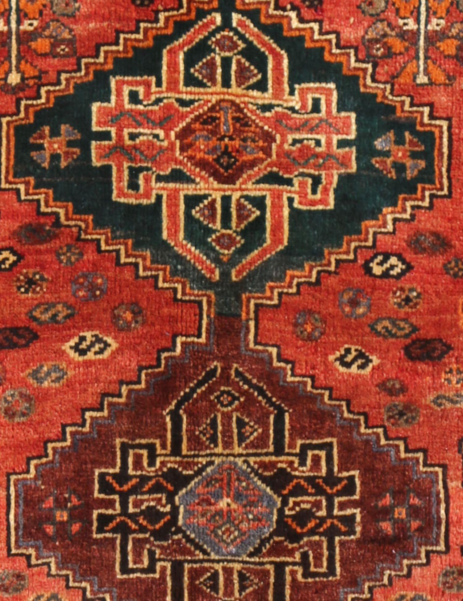 Perserteppich  rot <br/>158 x 134 cm