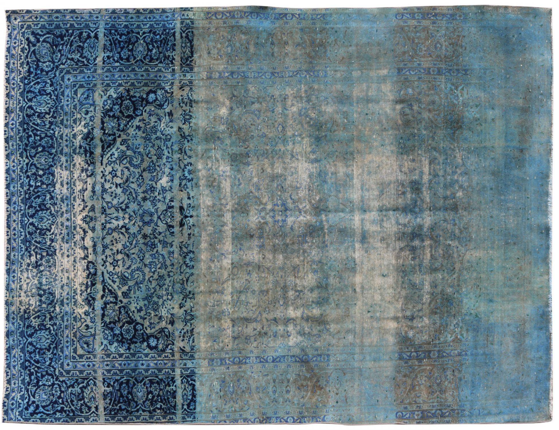 Tappeto Vintage  blu <br/>370 x 277 cm