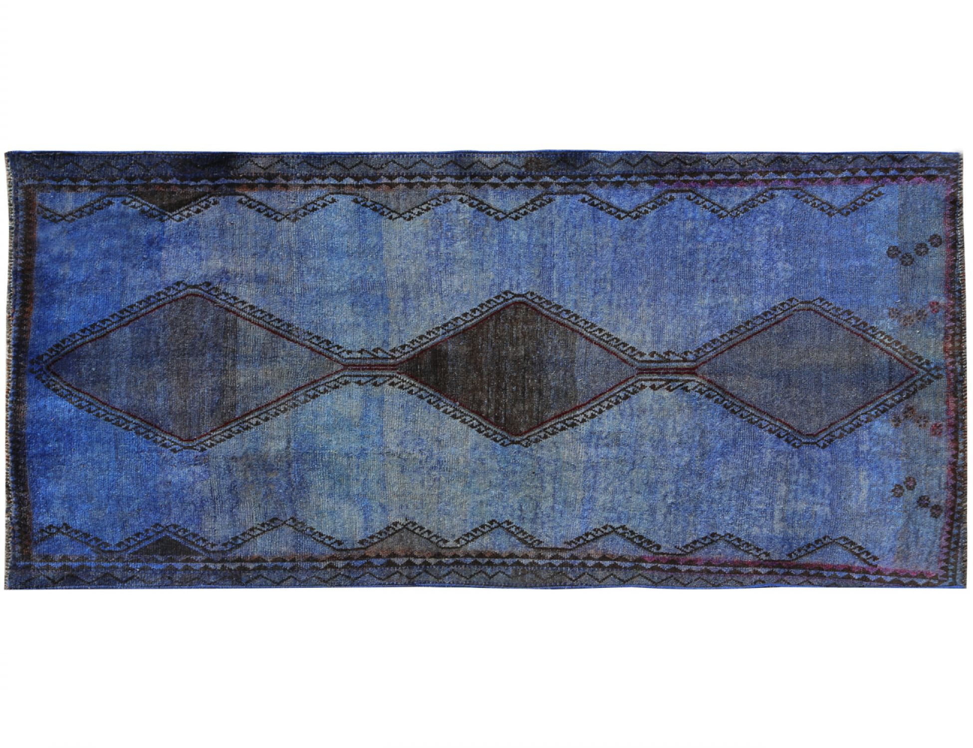 Vintage Carpet  blue <br/>246 x 132 cm