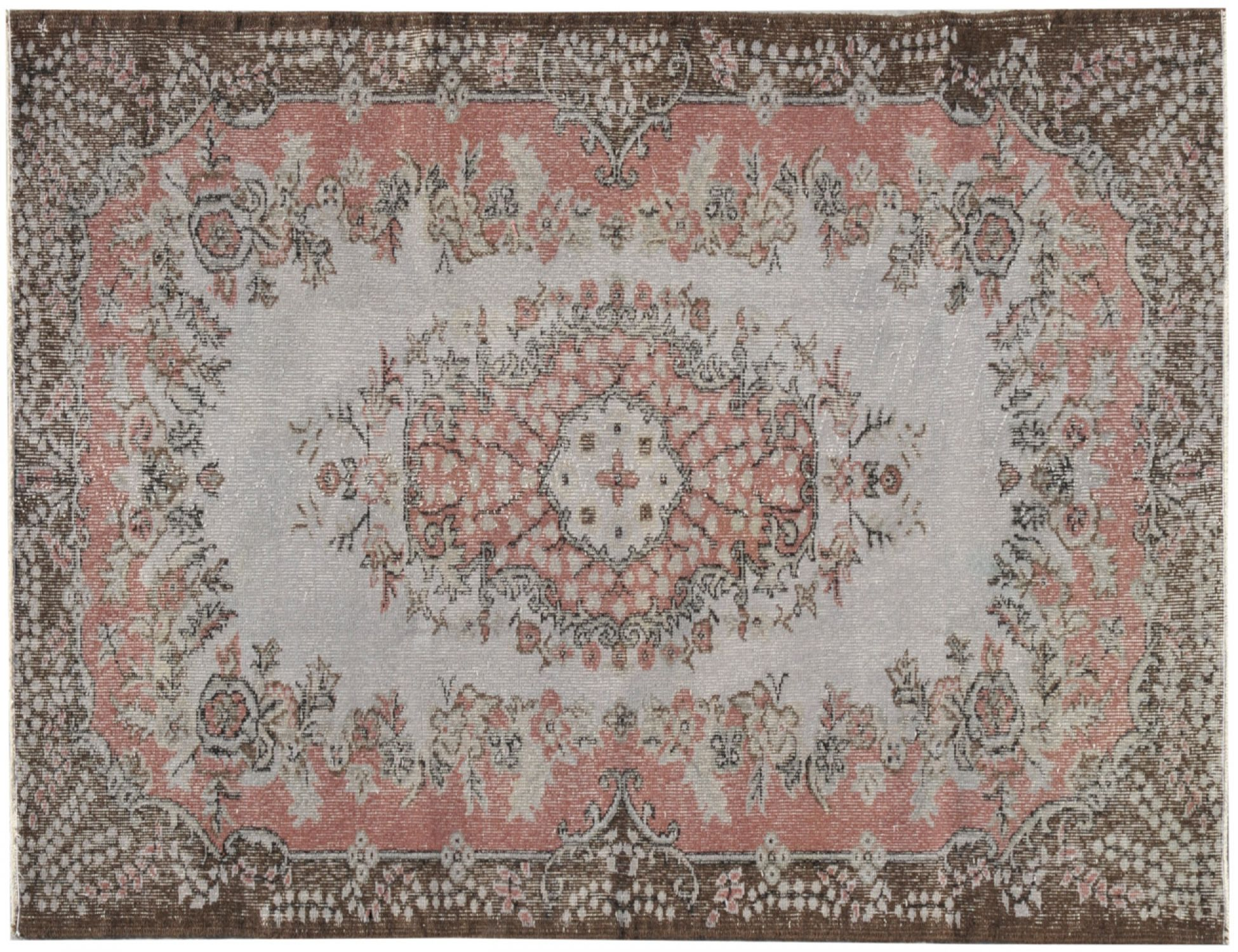 Vintage Teppich  grau <br/>212 x 120 cm