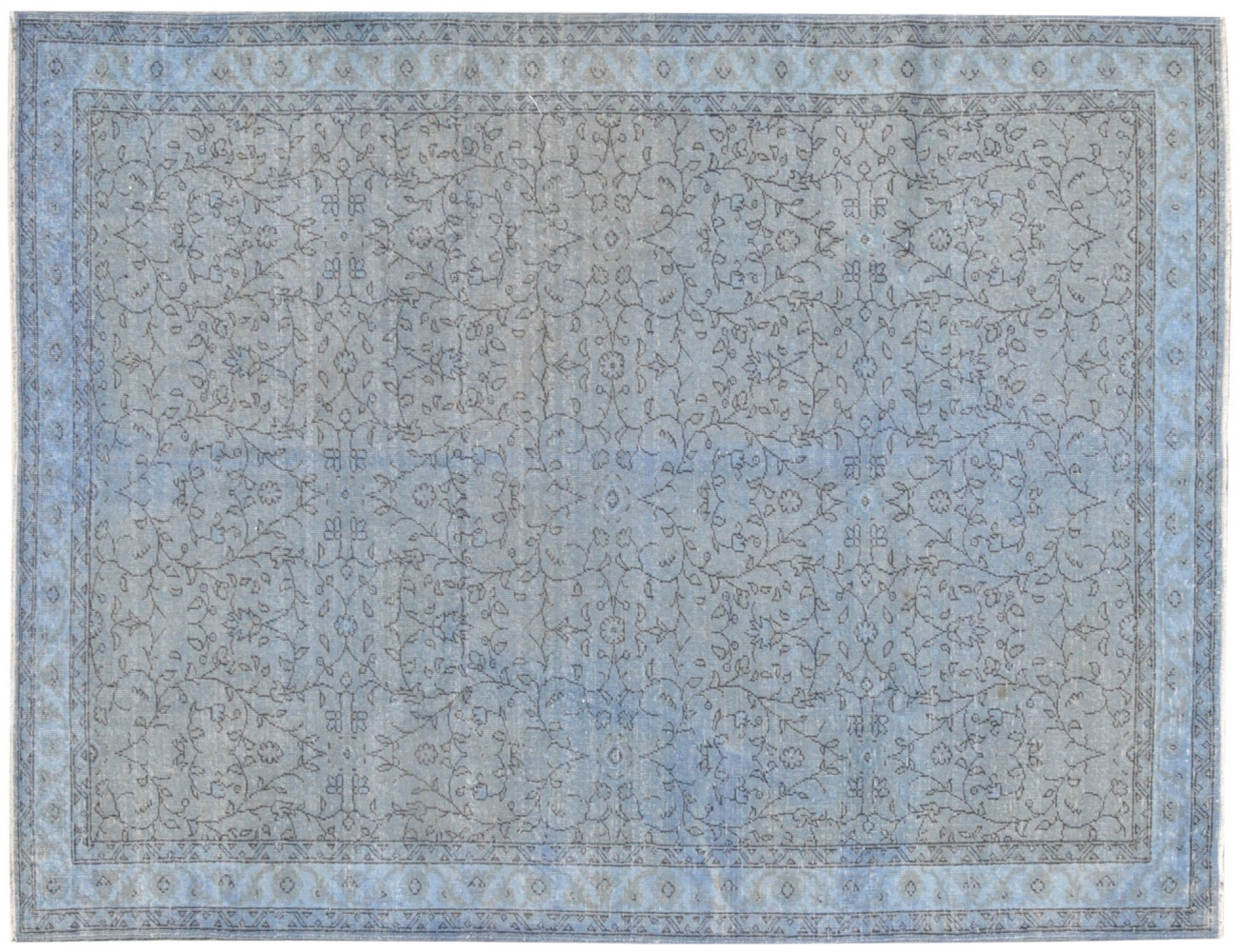 Vintage Tapis  bleu <br/>296 x 196 cm