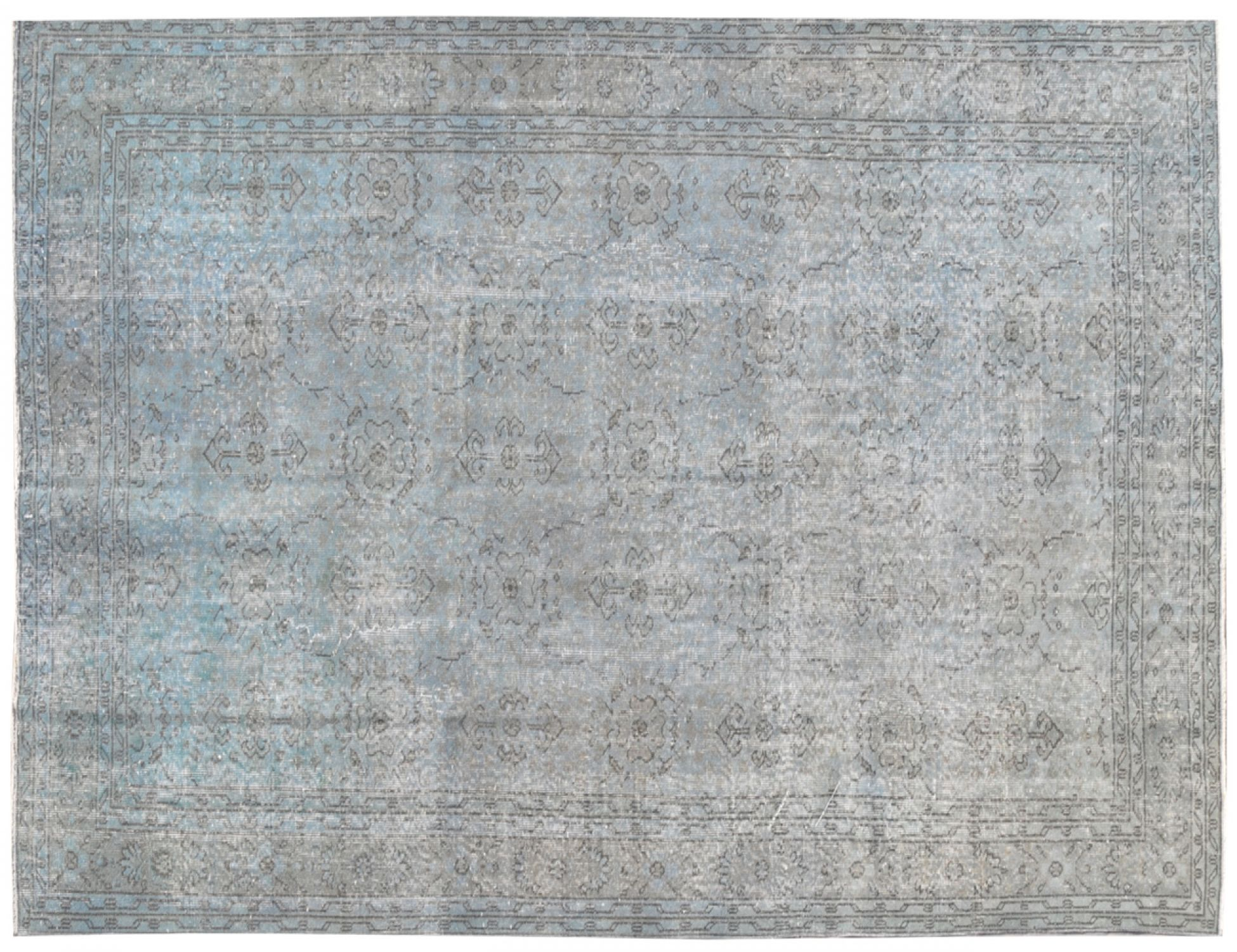 Vintage Tapis  bleu <br/>306 x 200 cm