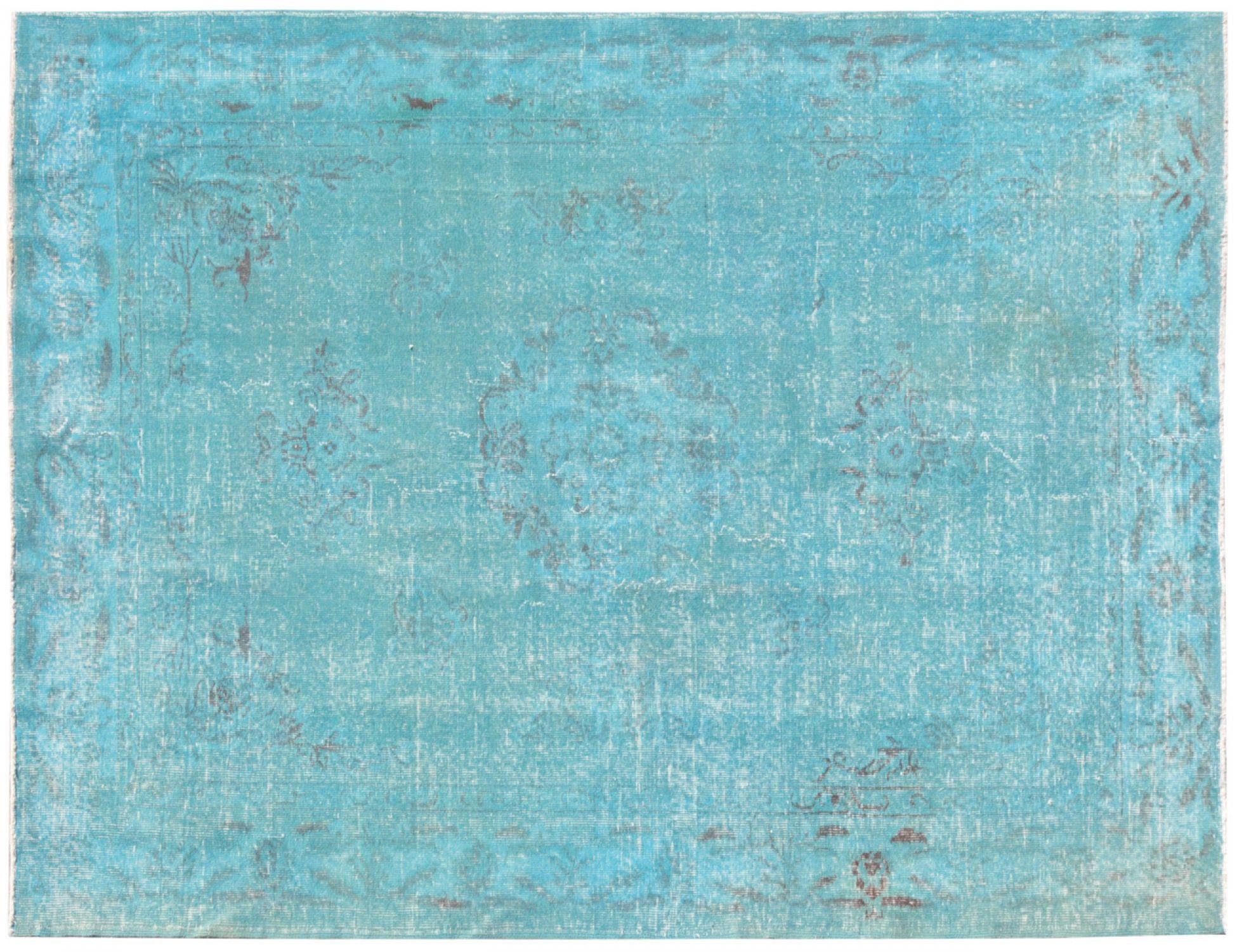 Vintage Tapis  bleu <br/>270 x 177 cm