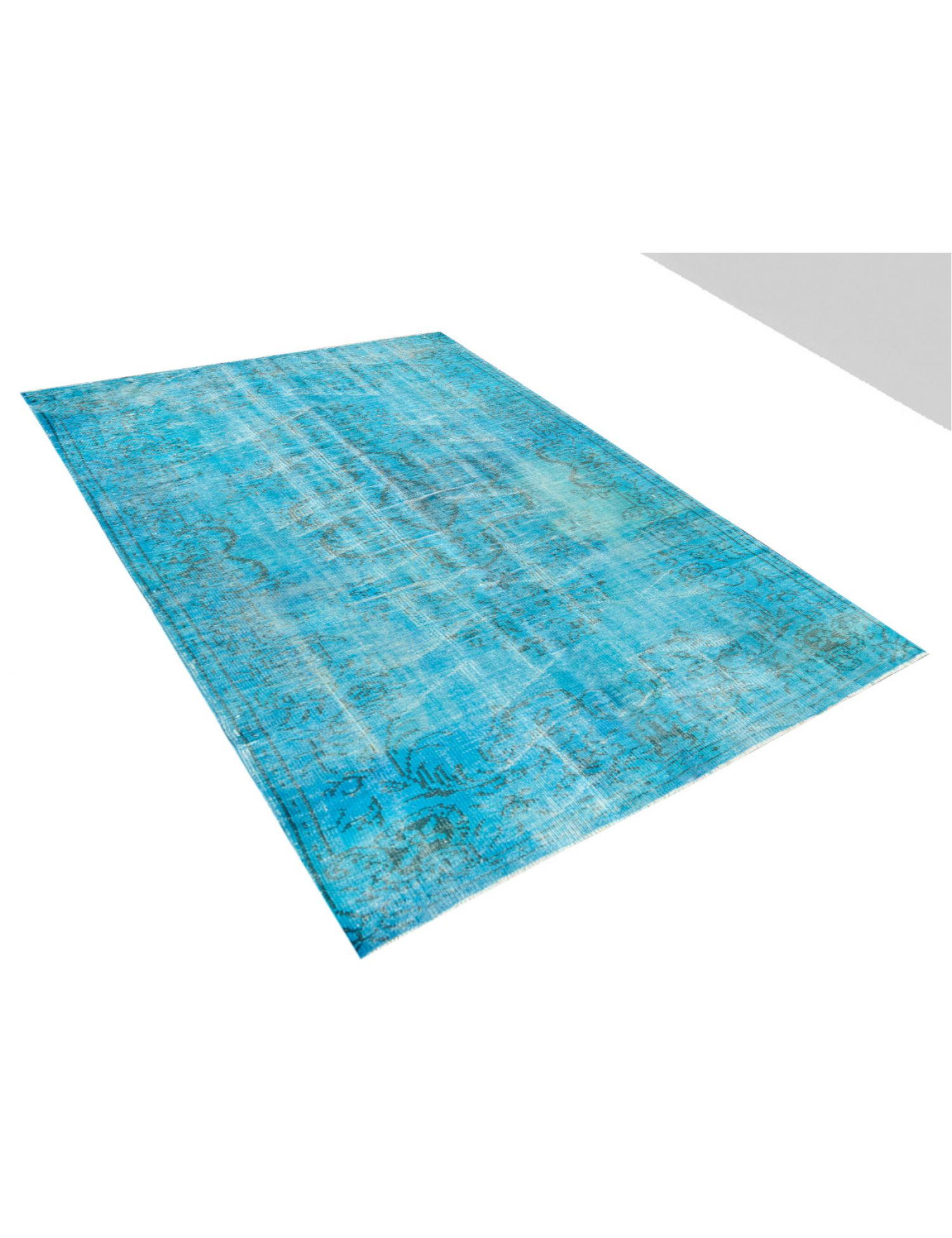 Tappeto Vintage  blu <br/>273 x 159 cm
