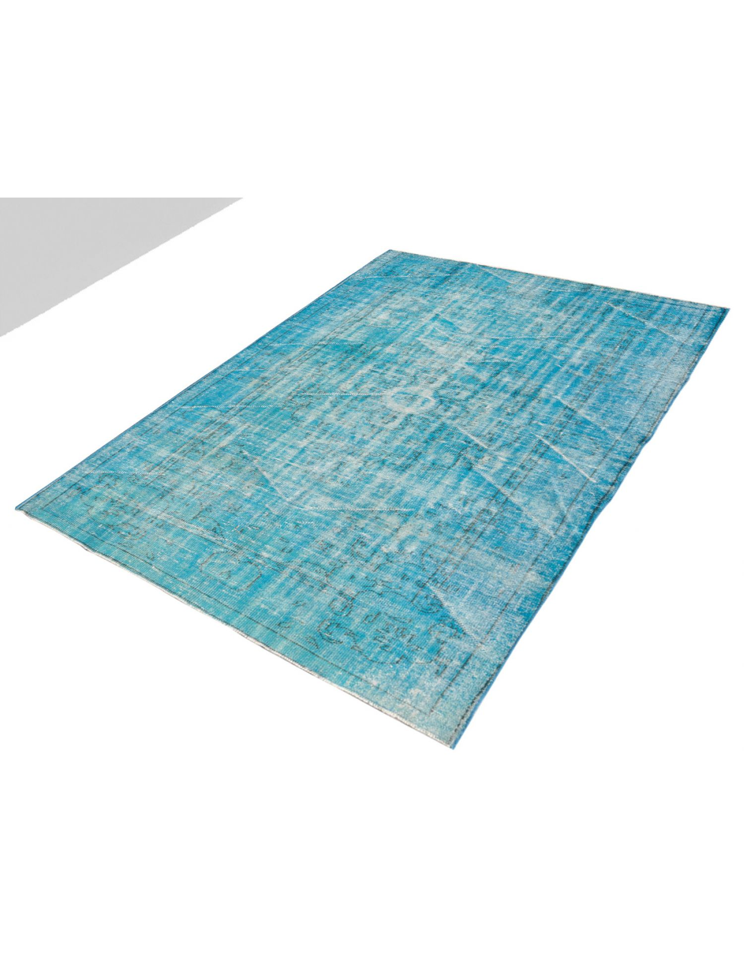 Vintage Teppich  blau <br/>277 x 184 cm