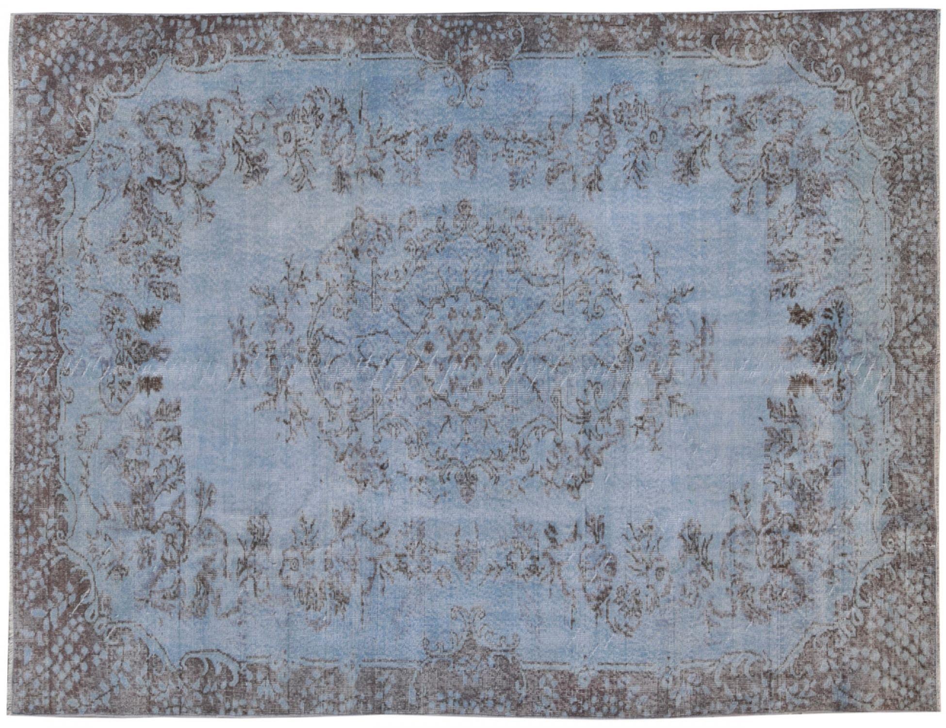 Vintage Tapis  bleu <br/>310 x 192 cm