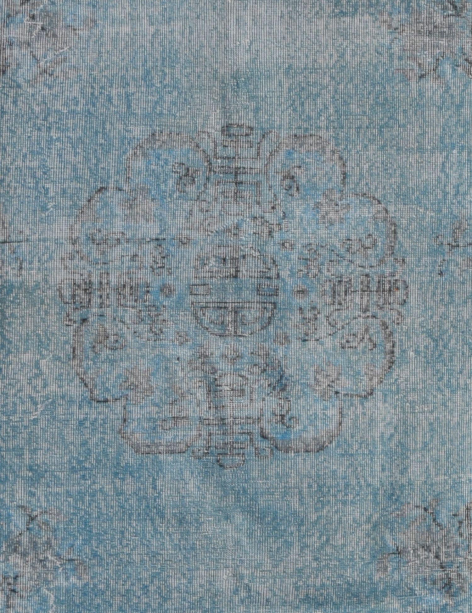 Tappeto Vintage  blu <br/>318 x 209 cm