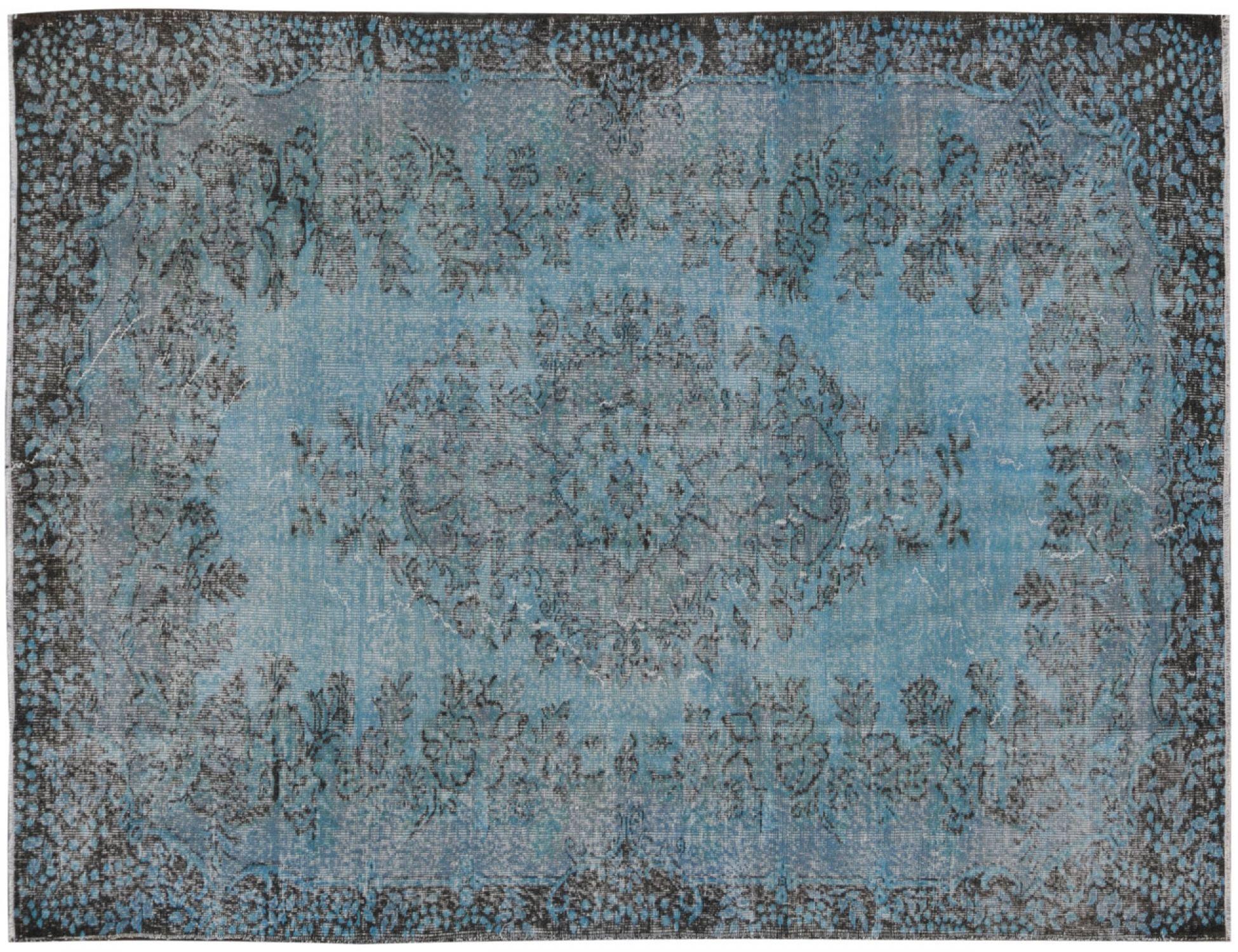 Tappeto Vintage  blu <br/>269 x 182 cm