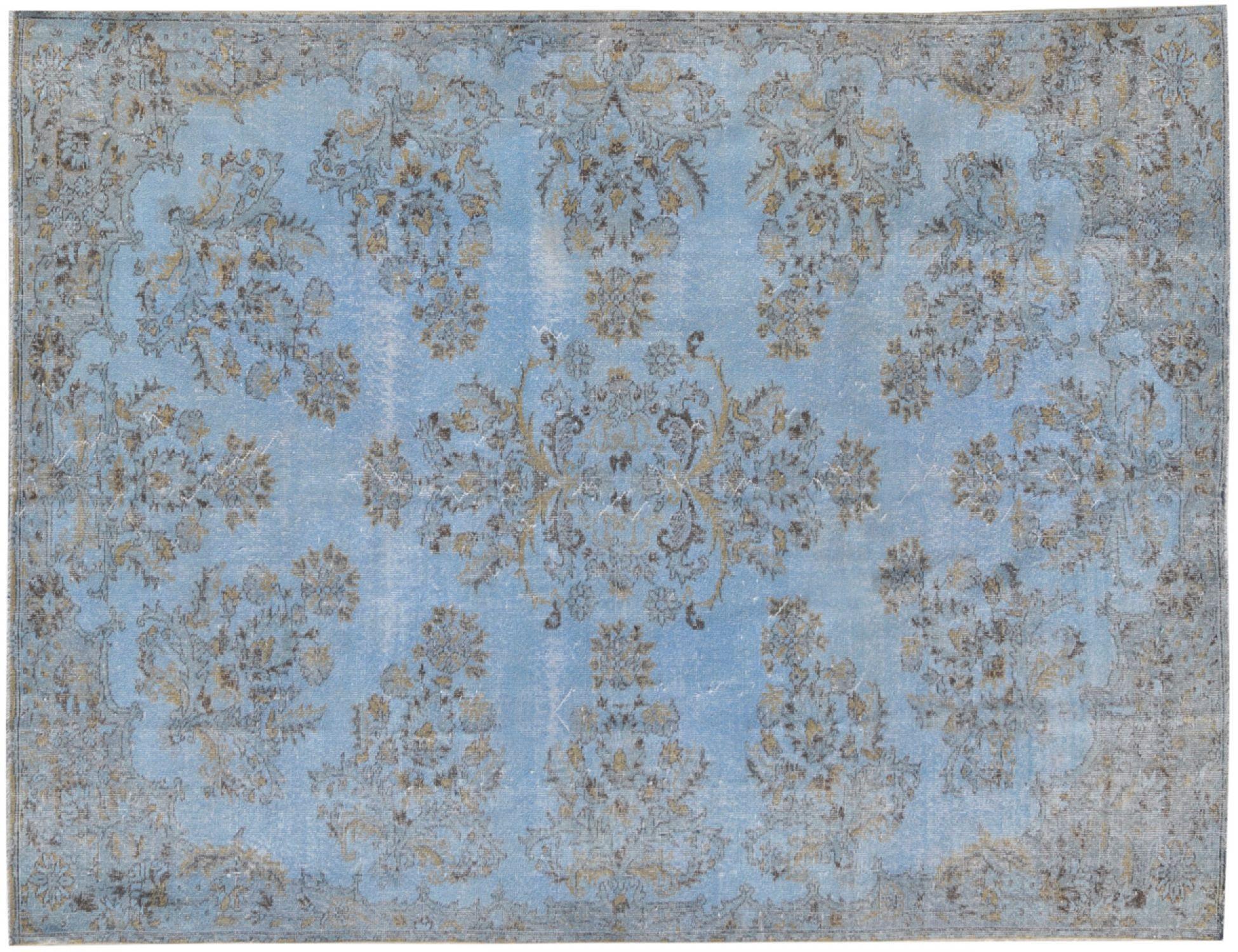 Vintage Tapis  bleu <br/>318 x 200 cm