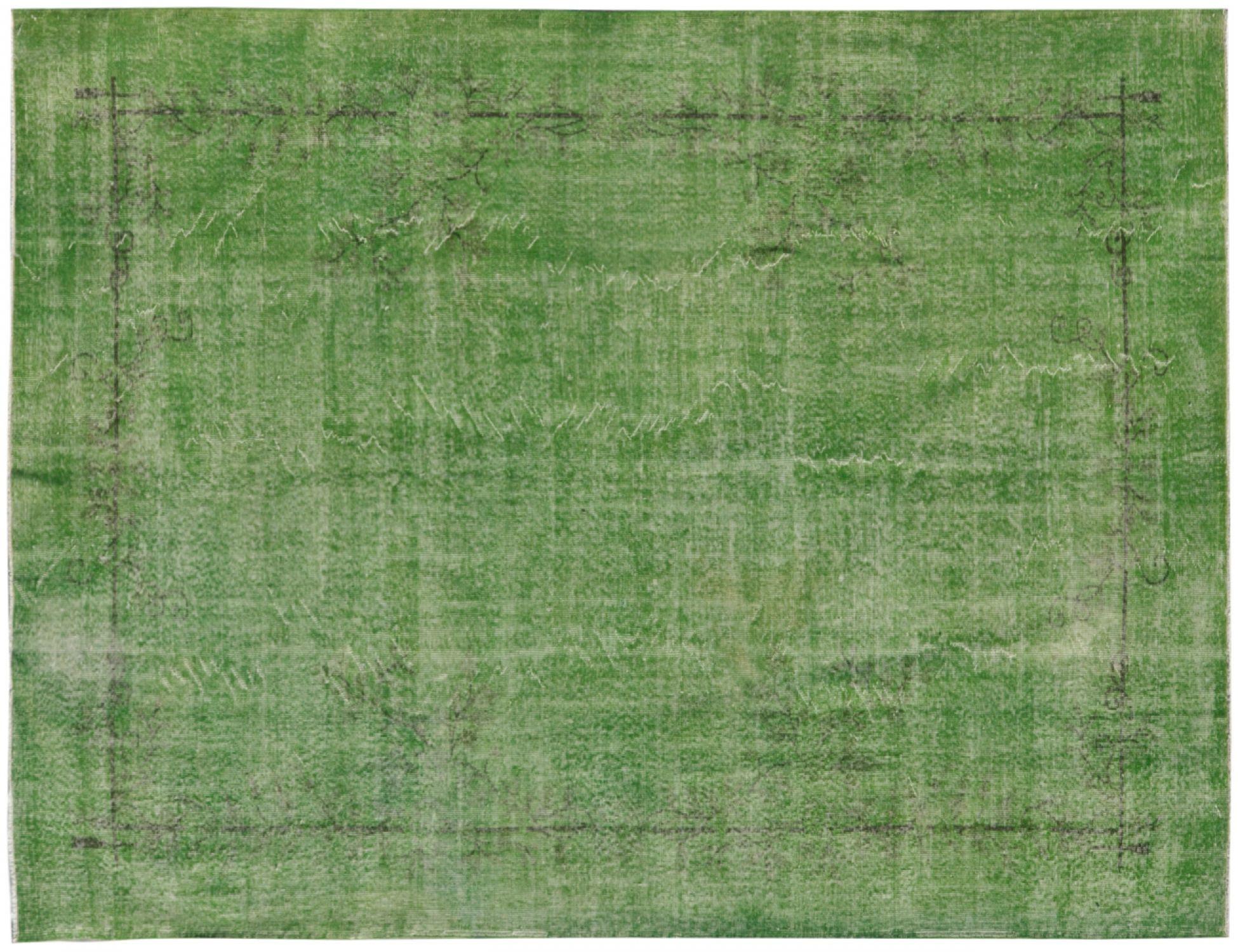 Vintage Tapis  vert <br/>317 x 214 cm