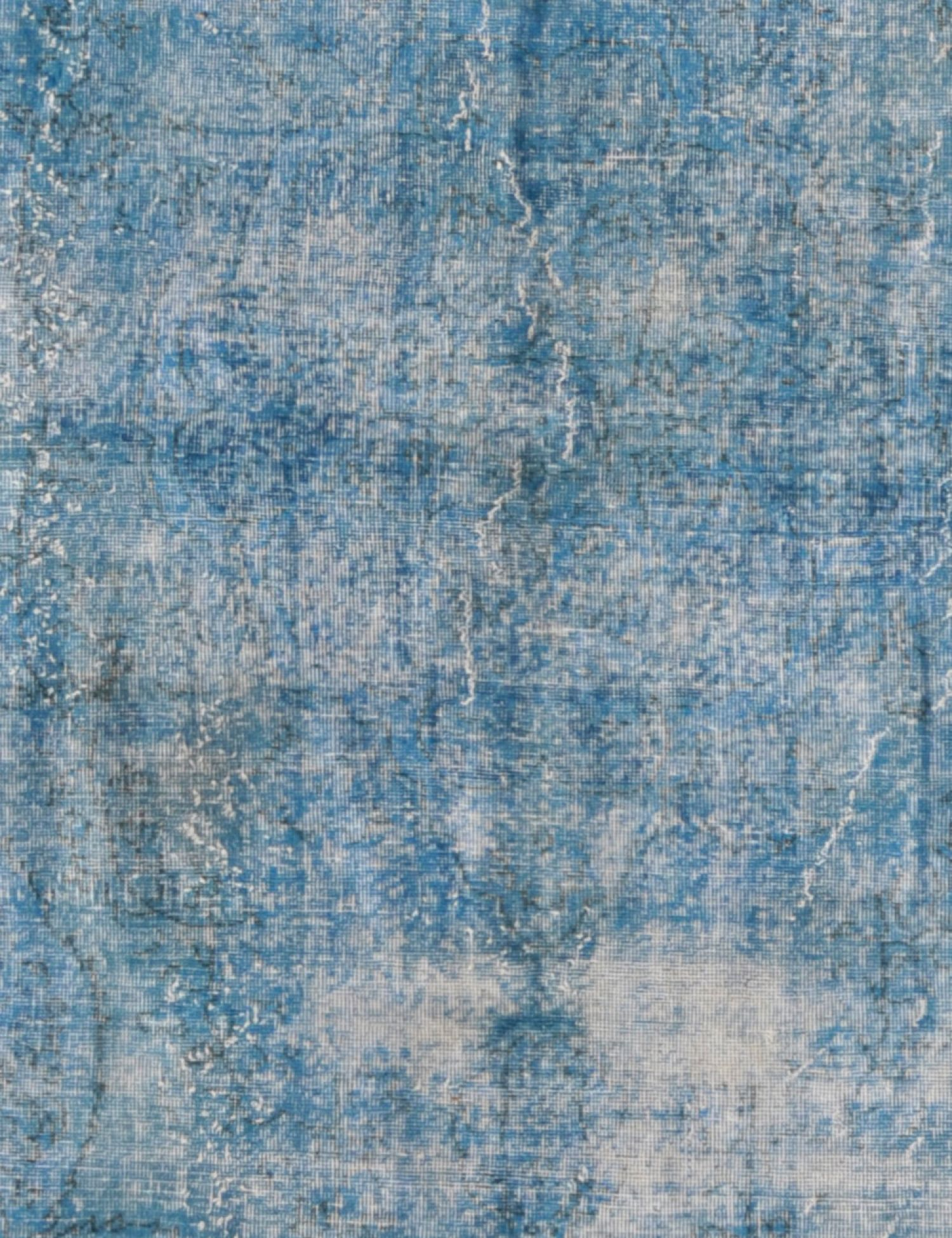 Tappeto Vintage  blu <br/>309 x 207 cm