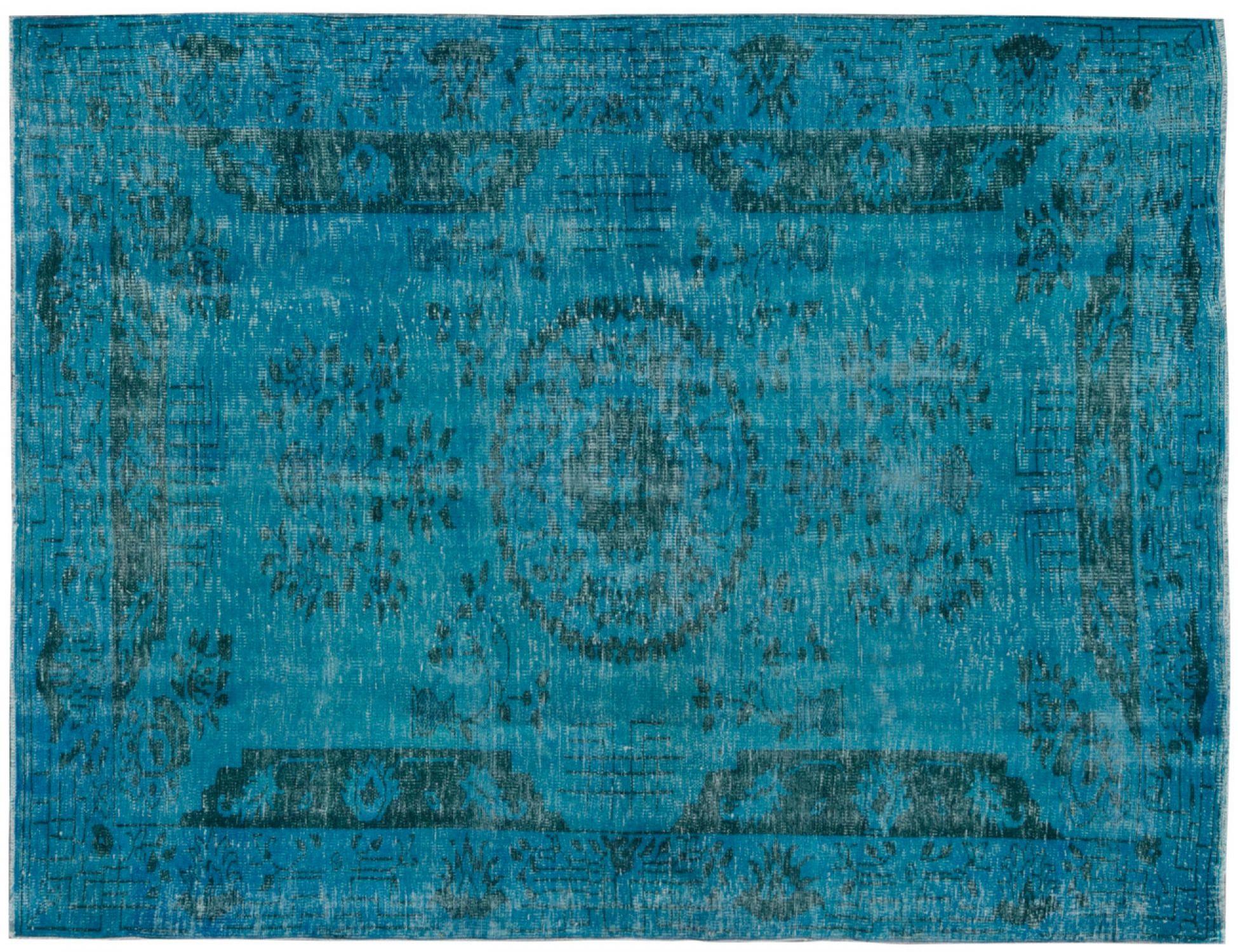 Tappeto Vintage  blu <br/>275 x 188 cm