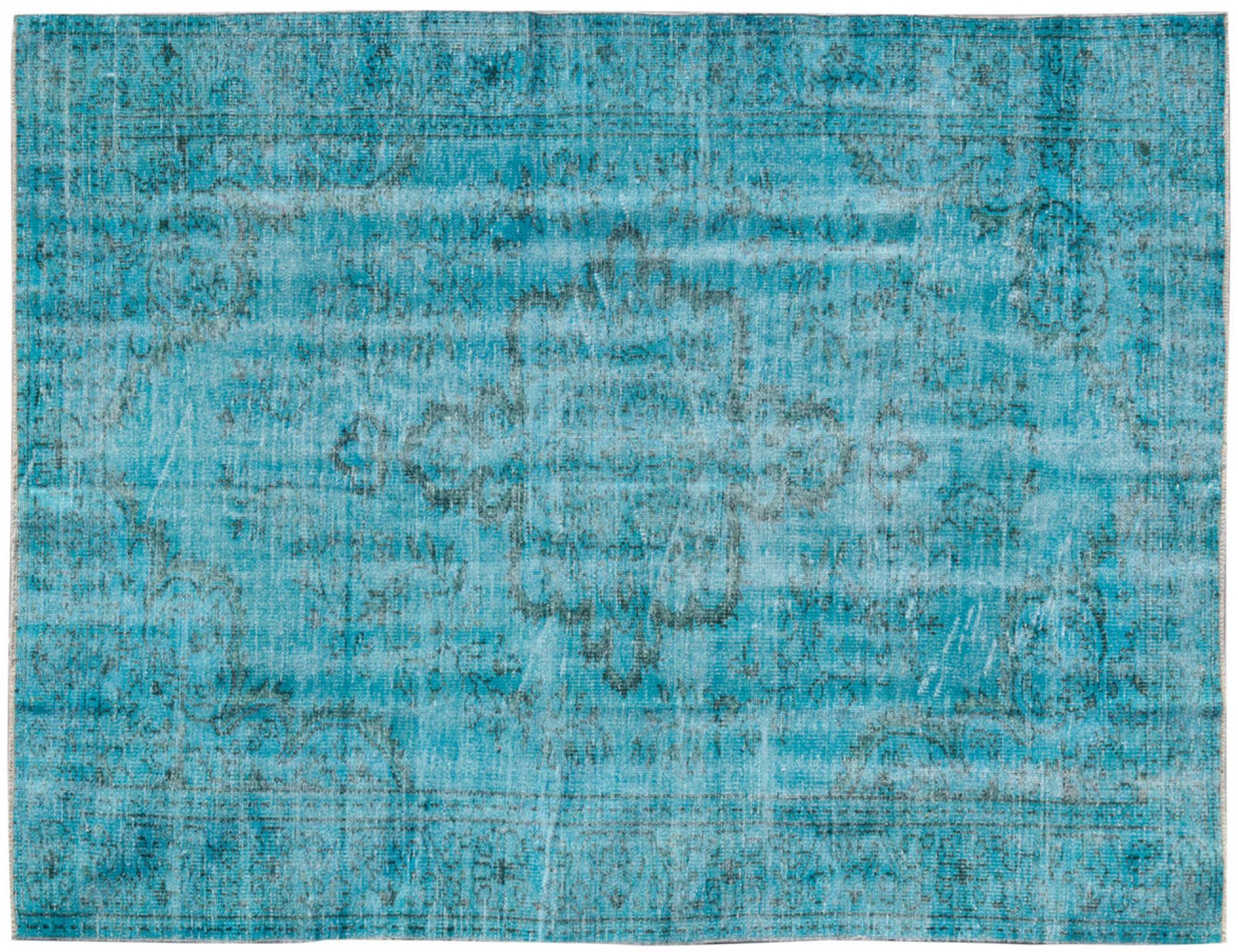 Tappeto Vintage  blu <br/>277 x 182 cm