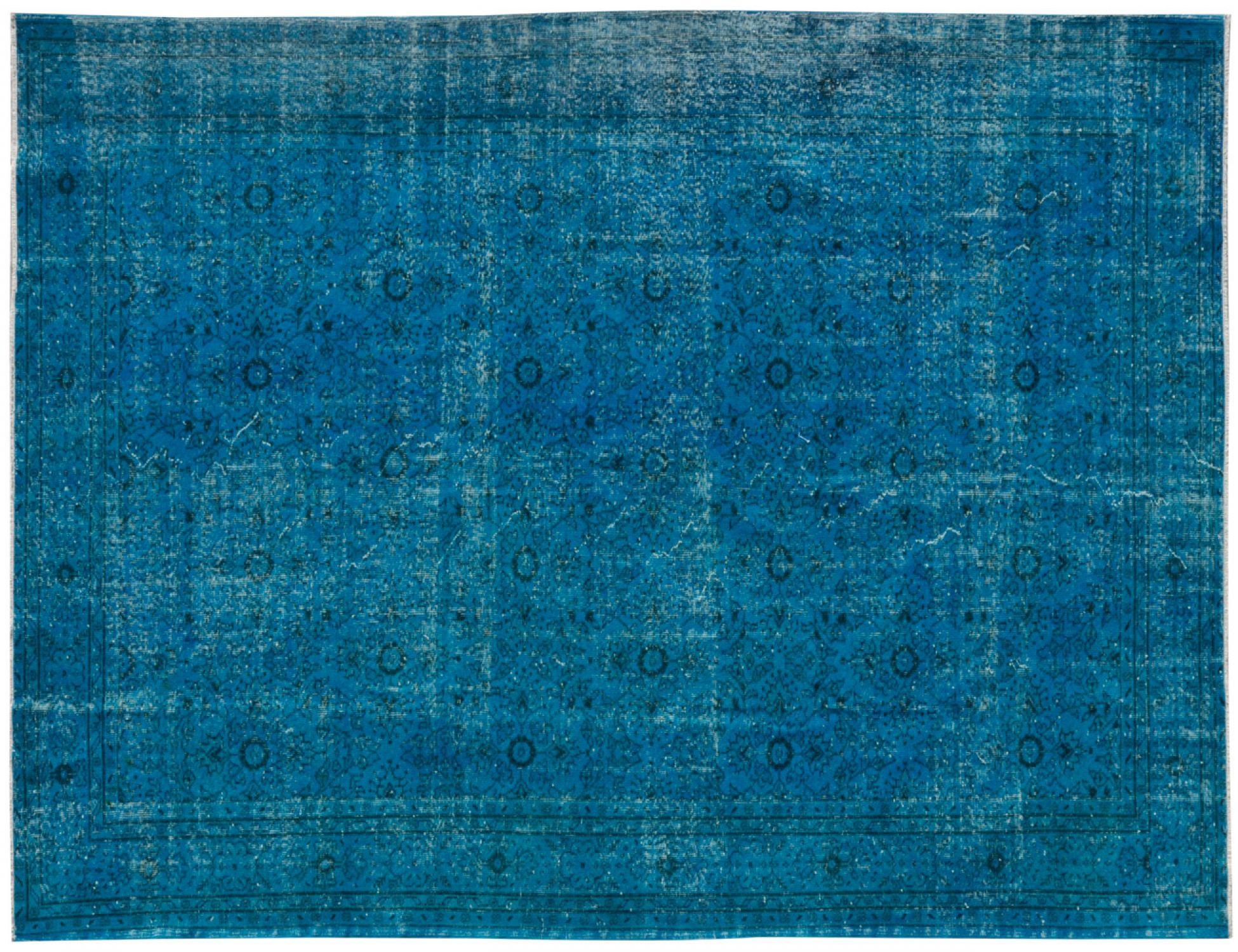 Vintage Tapis  bleu <br/>324 x 226 cm