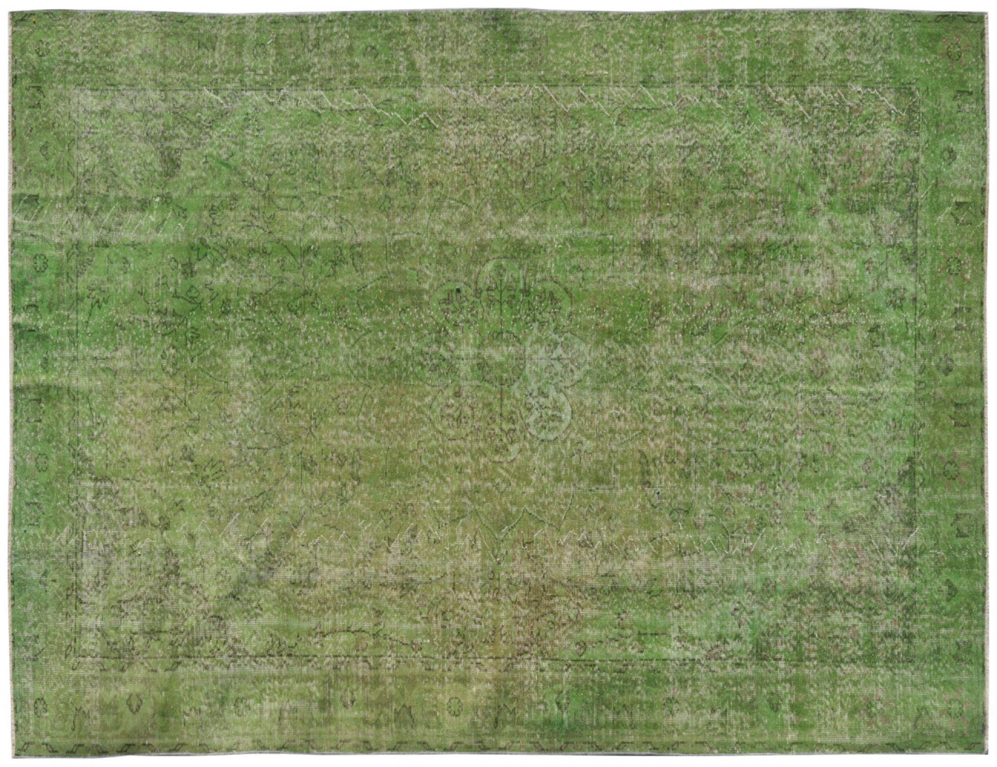 Vintage Tapis  vert <br/>320 x 205 cm