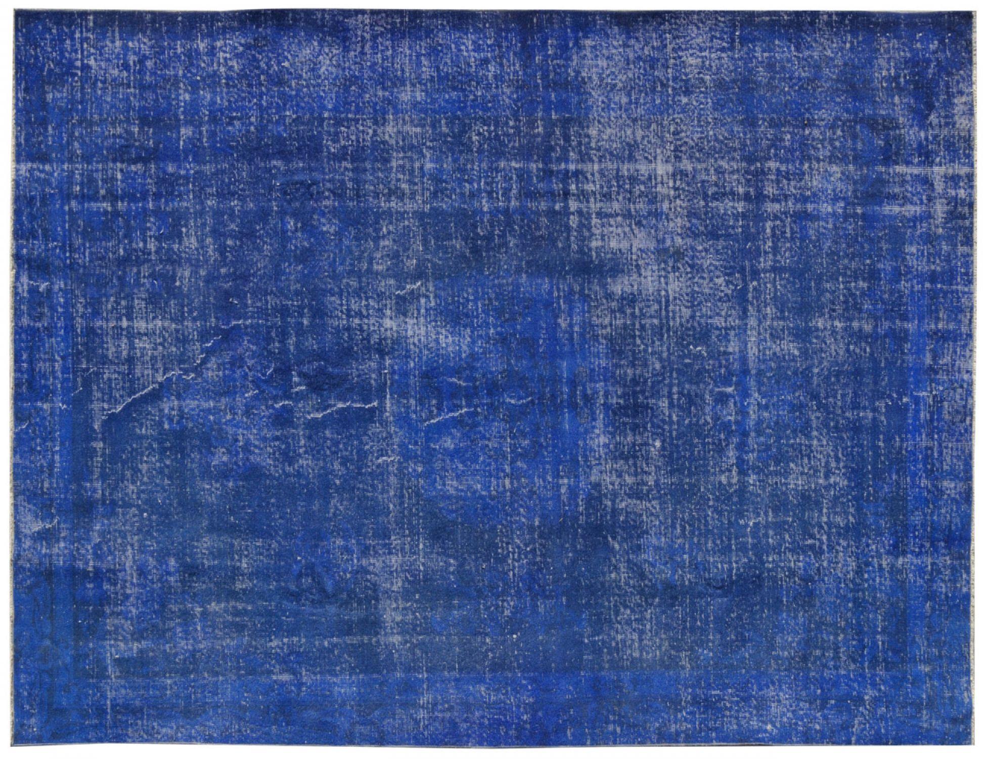 Vintage Tapis  bleu <br/>295 x 192 cm