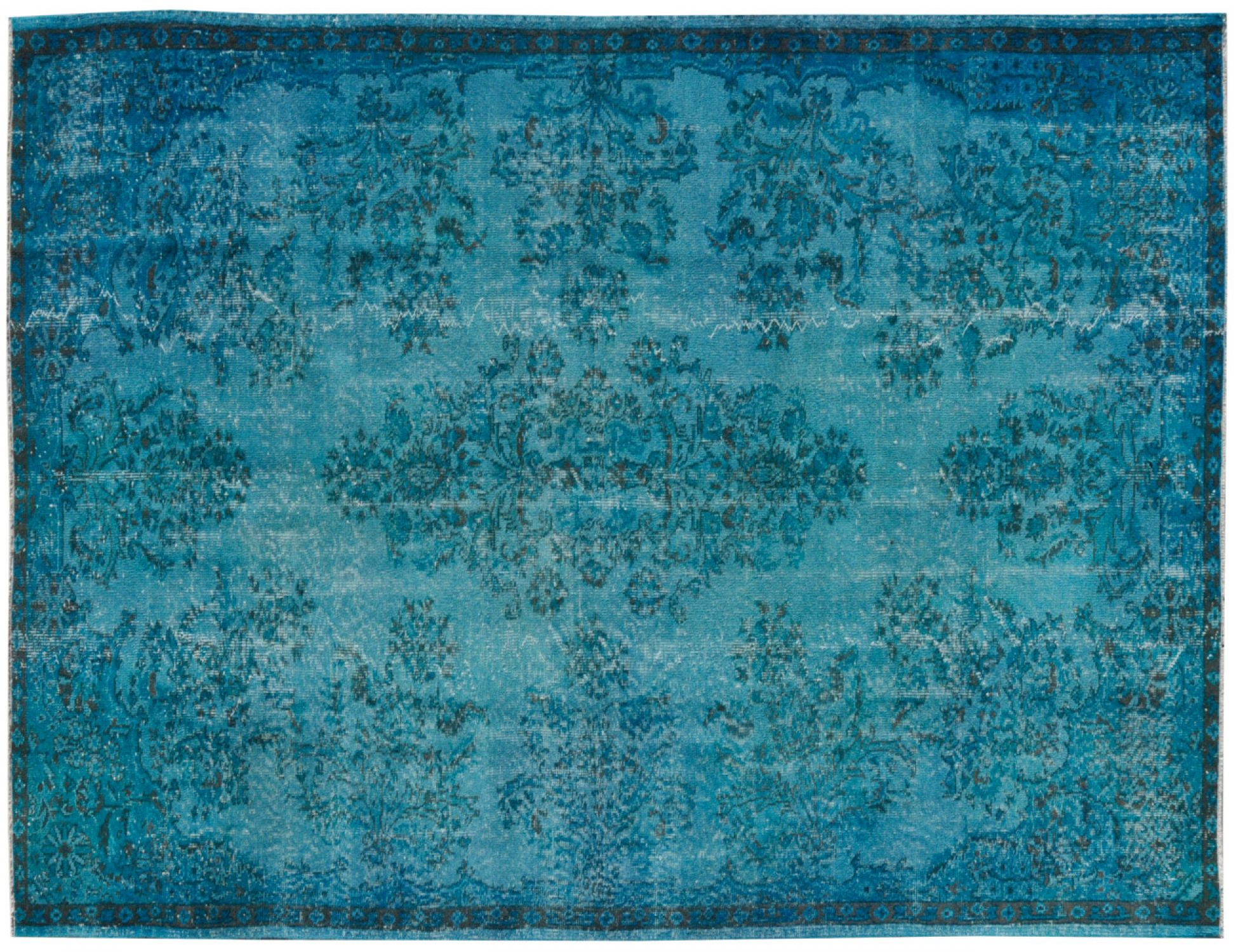 Tappeto Vintage  blu <br/>277 x 168 cm