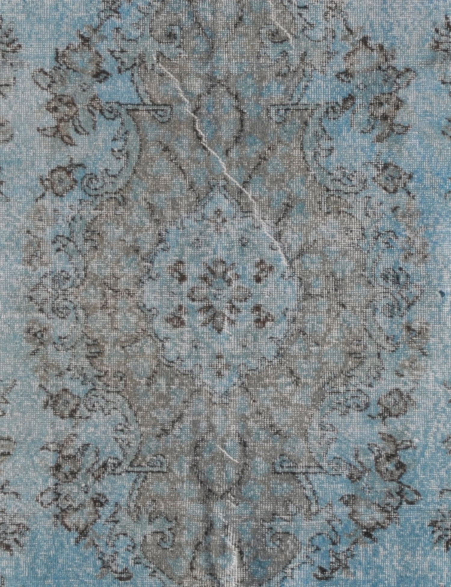 Tappeto Vintage  blu <br/>313 x 188 cm