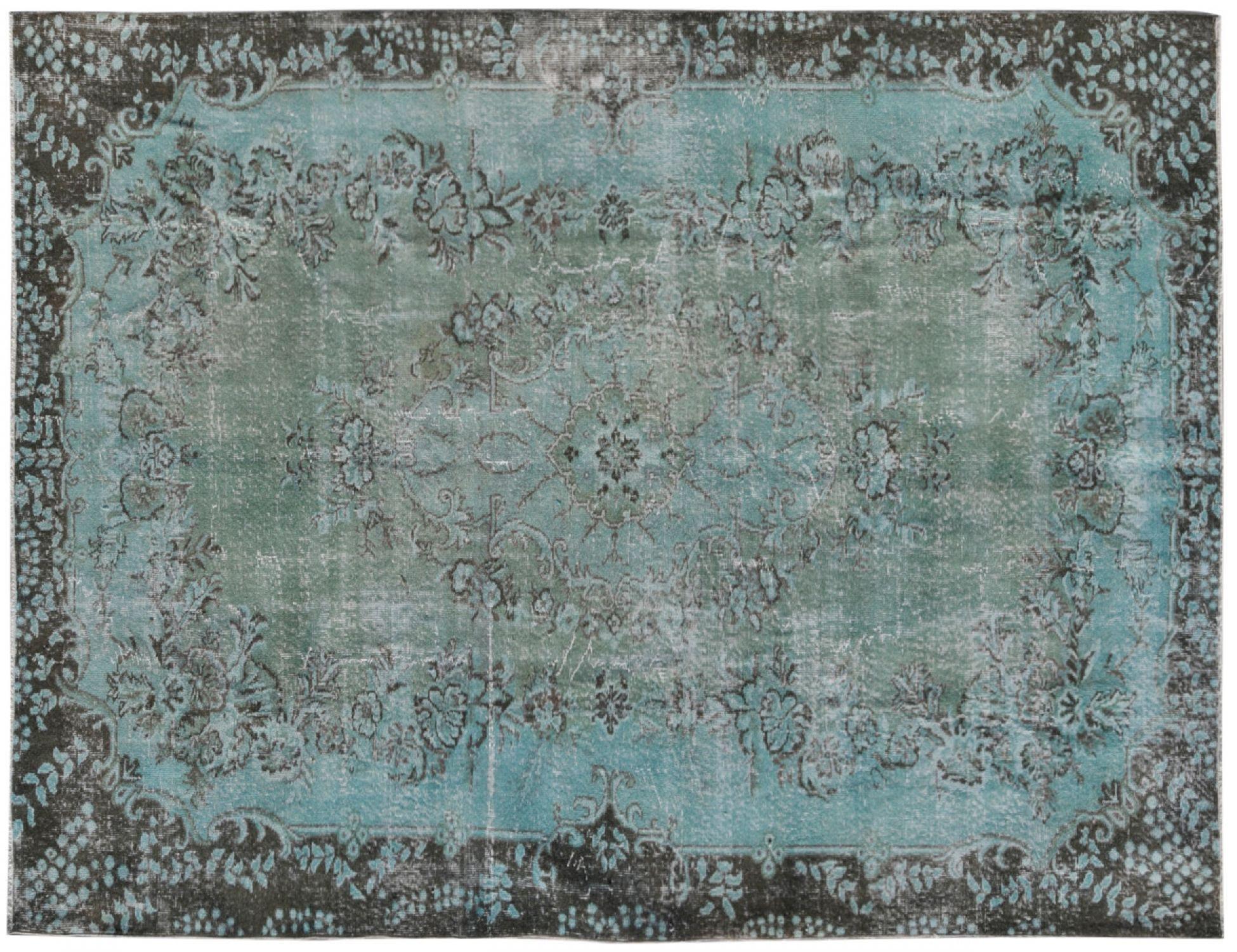 Vintage Tapis  bleu <br/>299 x 202 cm