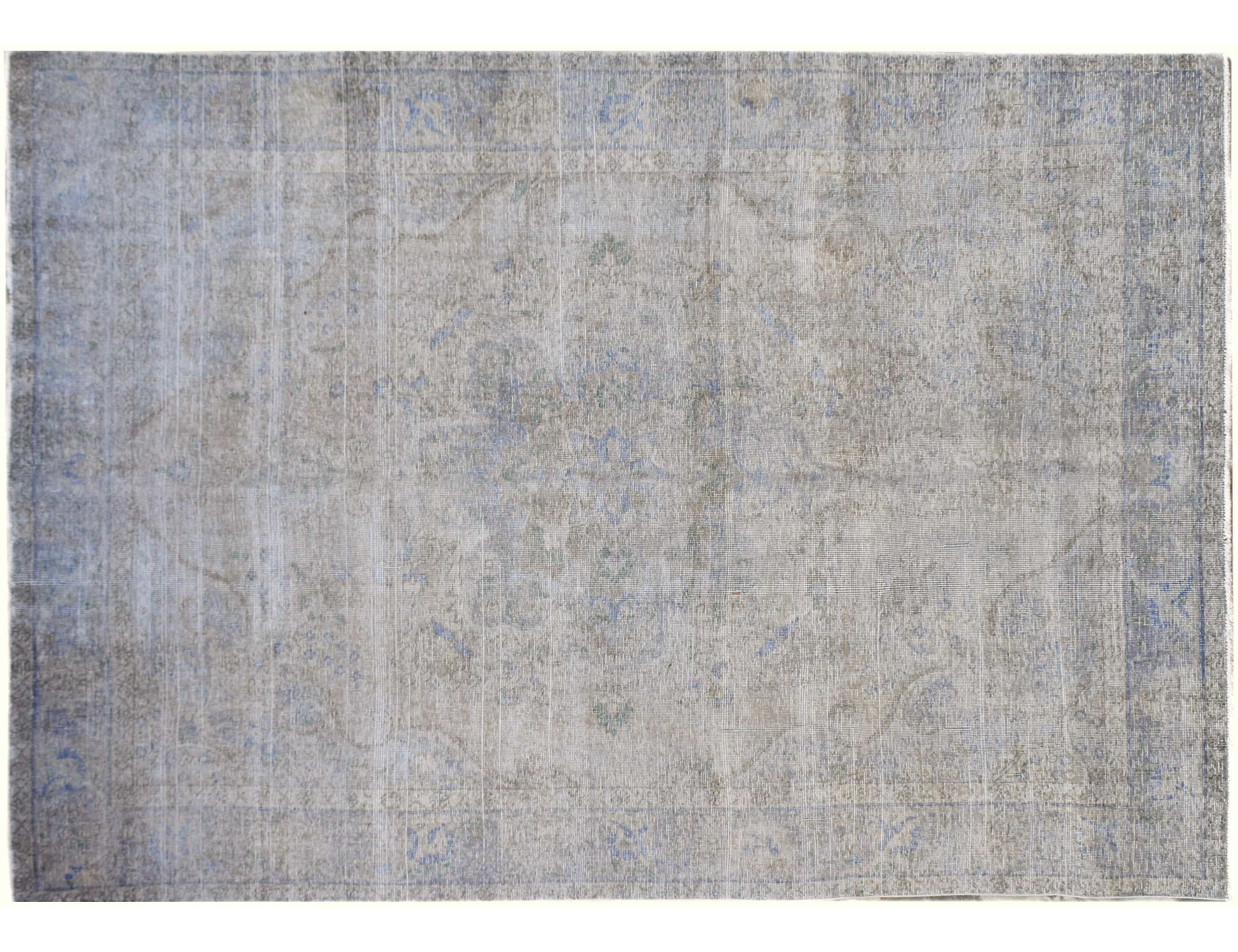 Tappeto Vintage  grigio <br/>277 x 191 cm