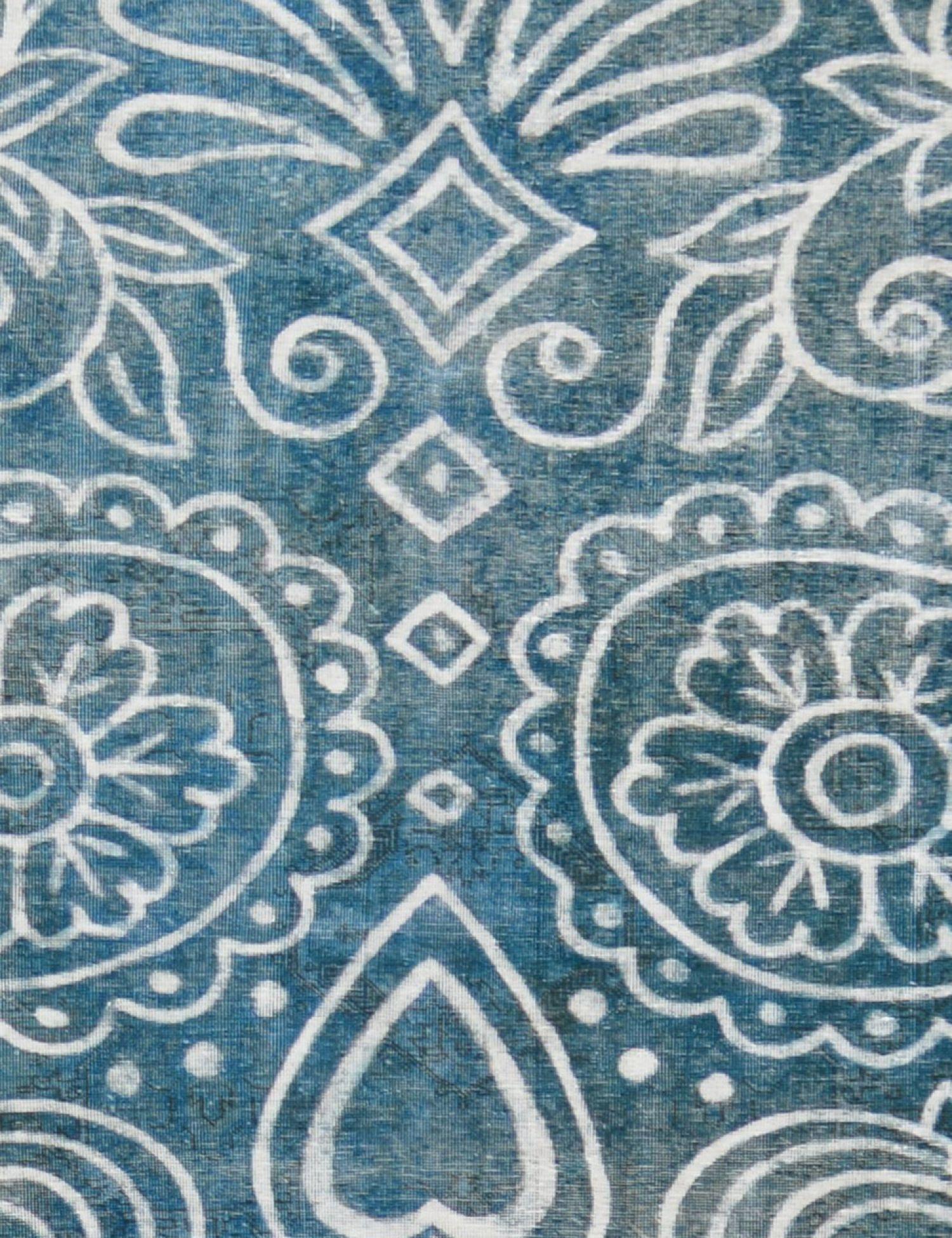 Tappeto Vintage  blu <br/>378 x 300 cm