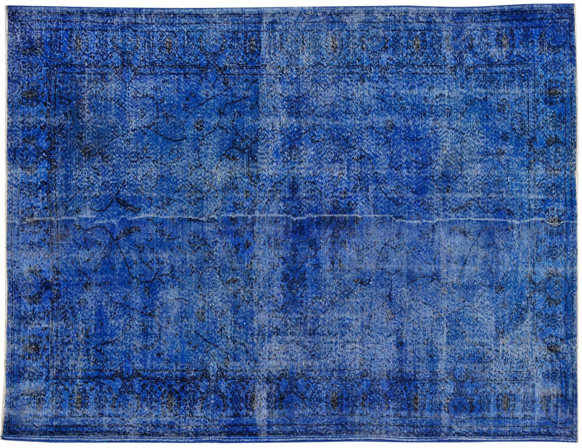 Tappeto Vintage  blu <br/>287 x 189 cm