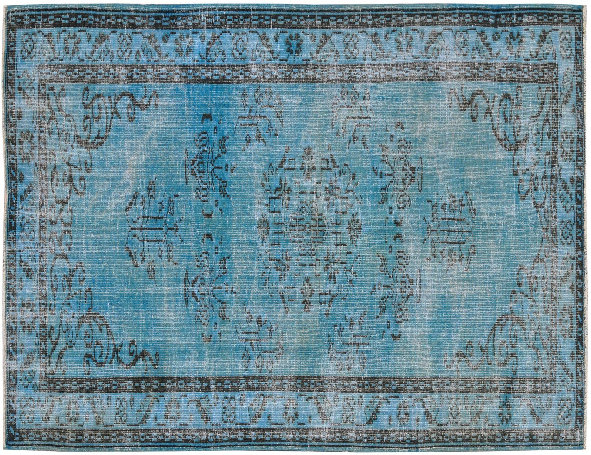 Tappeto Vintage  blu <br/>252 x 149 cm