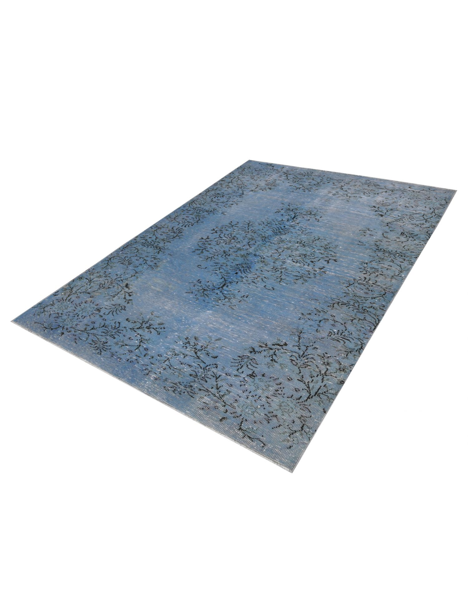 vintage teppich türkis   blau <br/>270 x 162 cm
