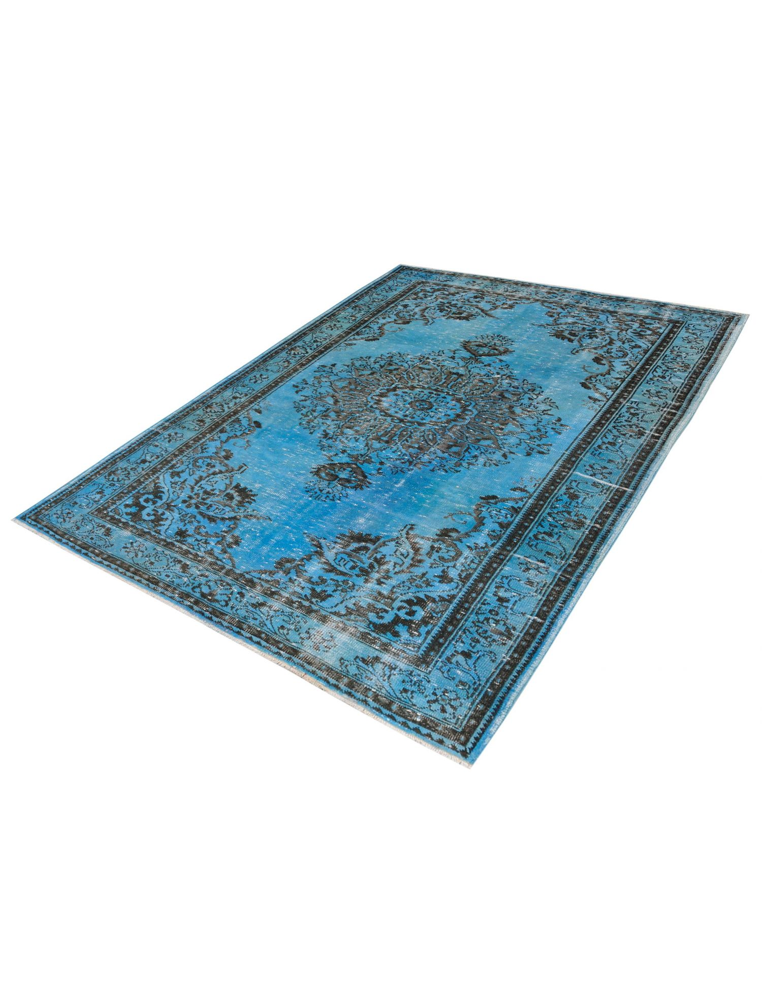 Tappeto Vintage  blu <br/>294 x 178 cm