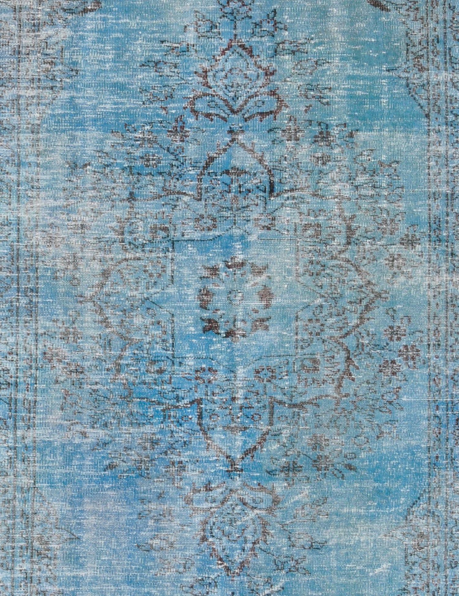 Tappeto Vintage  blu <br/>277 x 164 cm