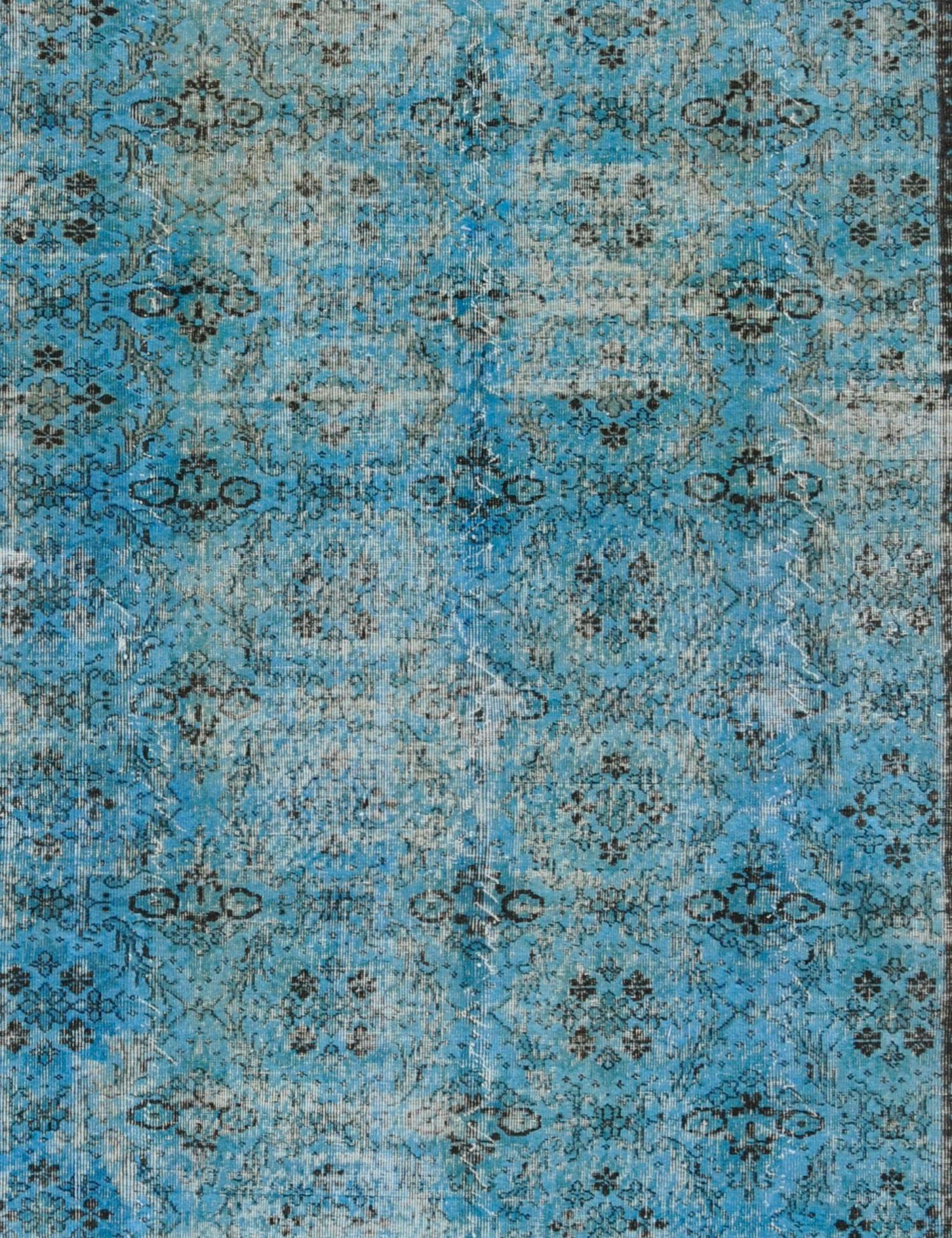 Tappeto Vintage  blu <br/>306 x 212 cm