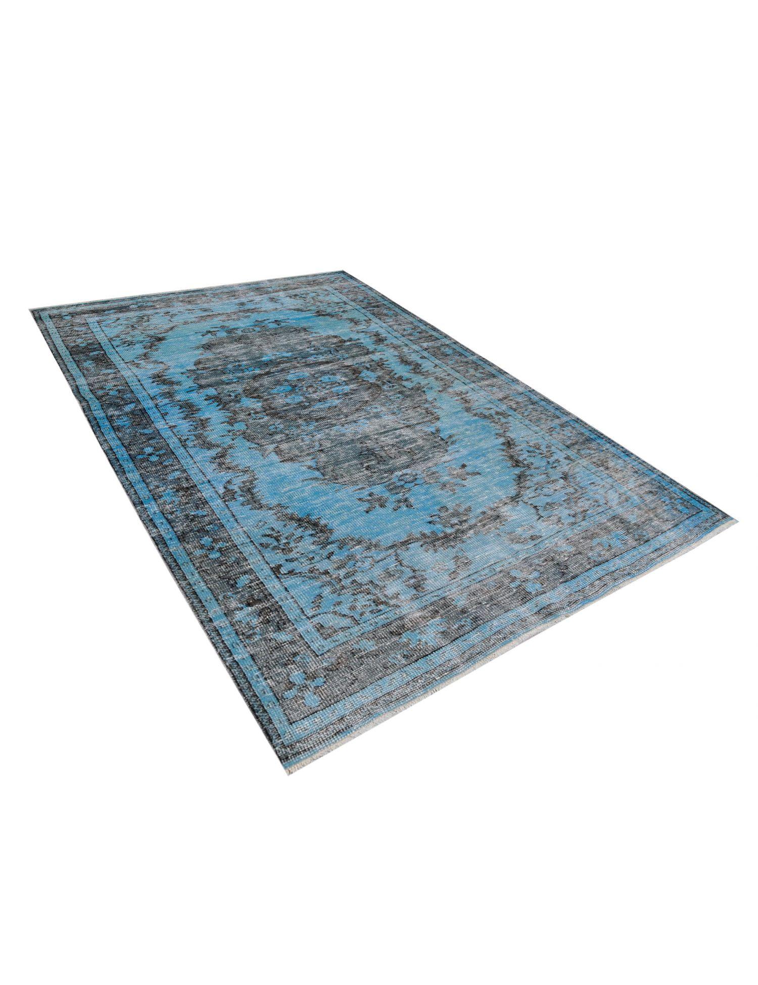 Tappeto Vintage  blu <br/>277 x 161 cm