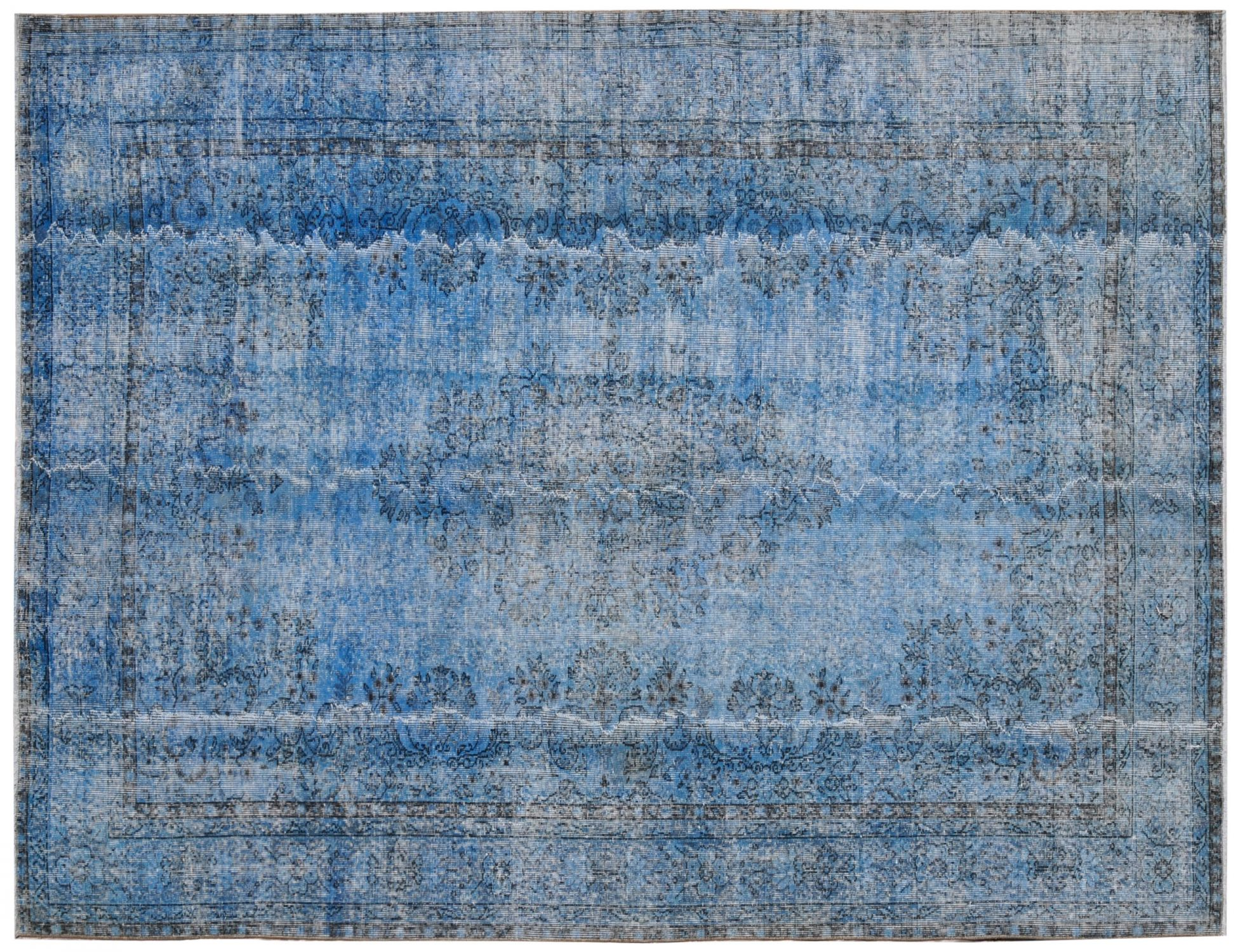 Vintage Teppich  blau <br/>311 x 206 cm