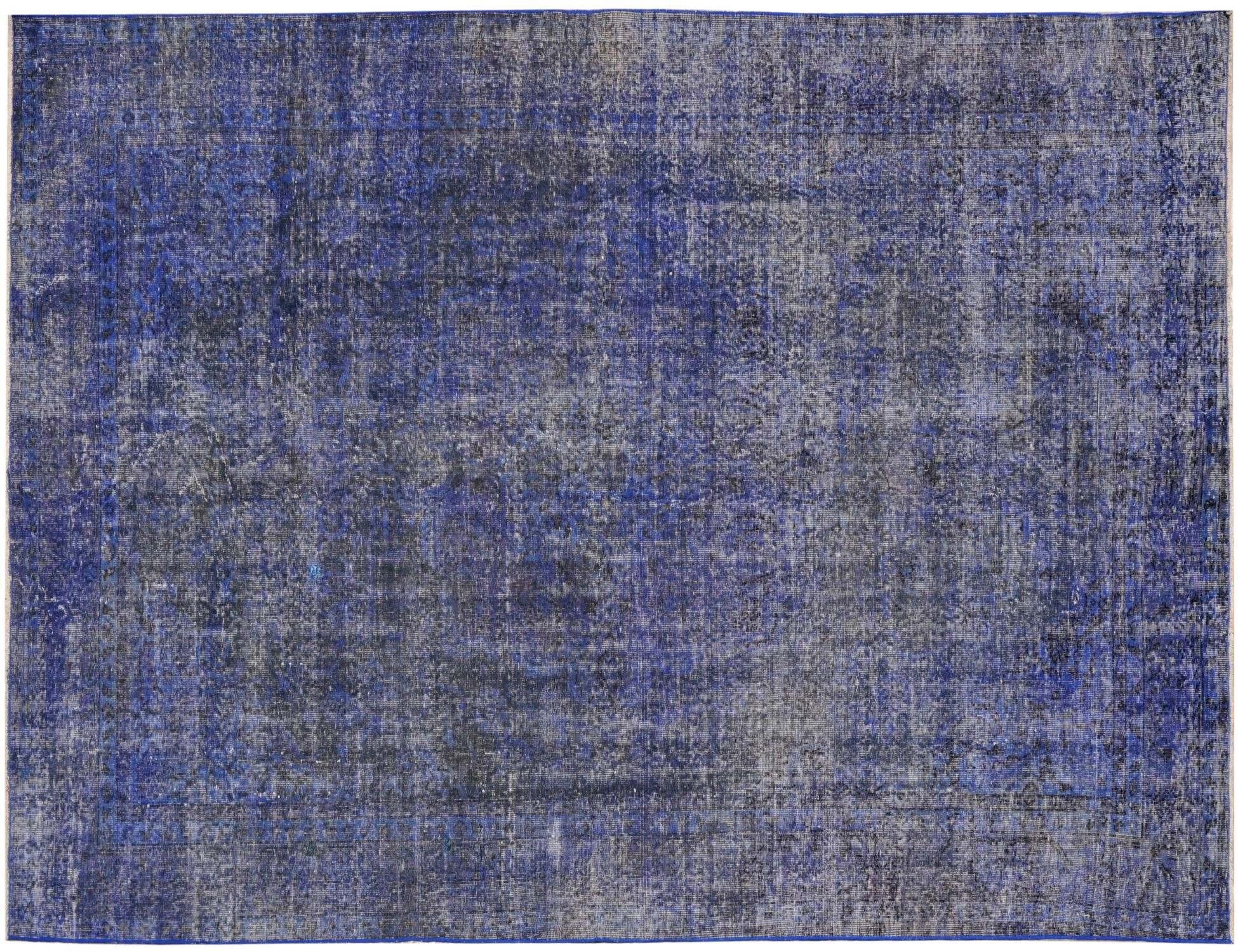 Tappeto Vintage  blu <br/>312 x 194 cm