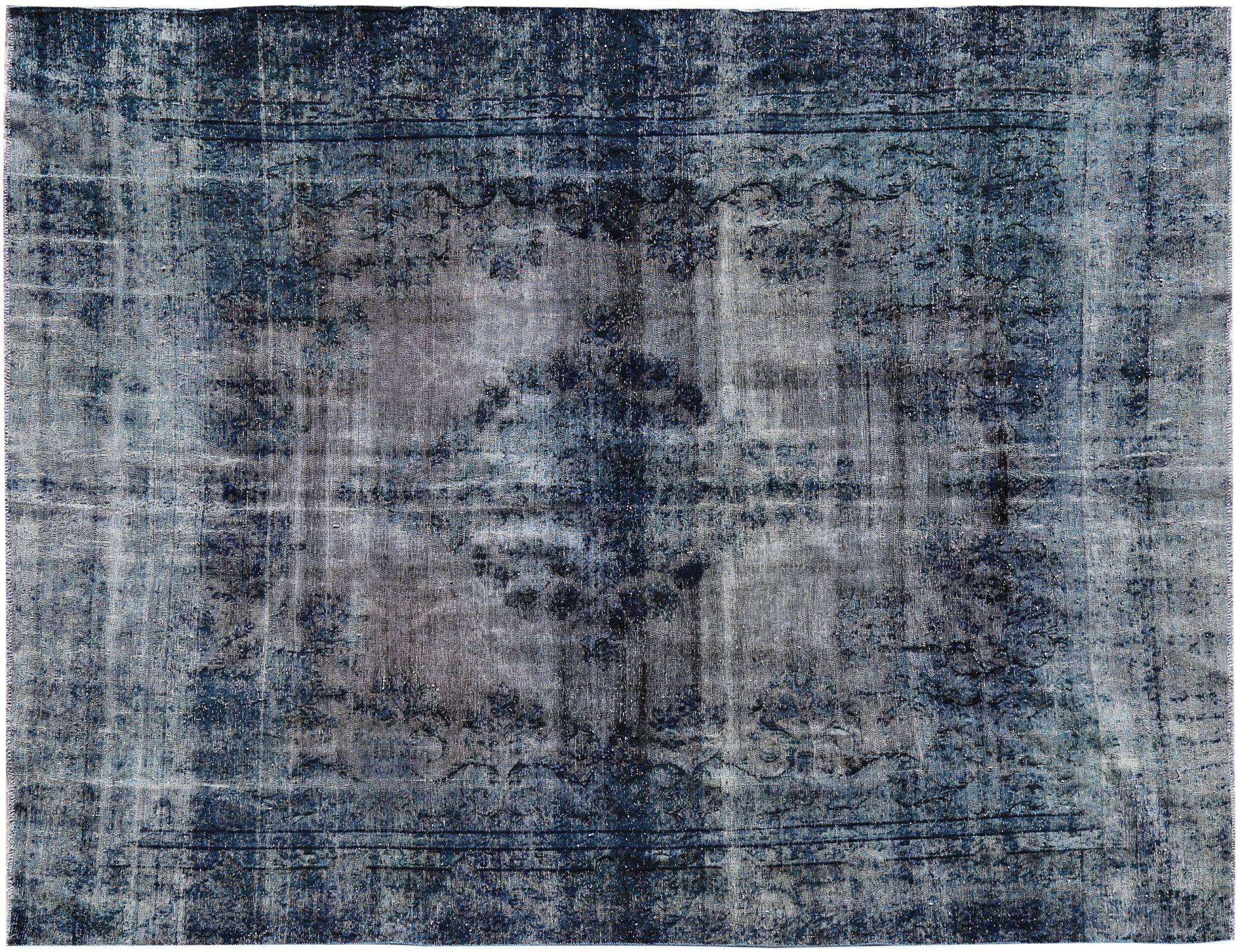 Tappeto Vintage  blu <br/>376 x 276 cm