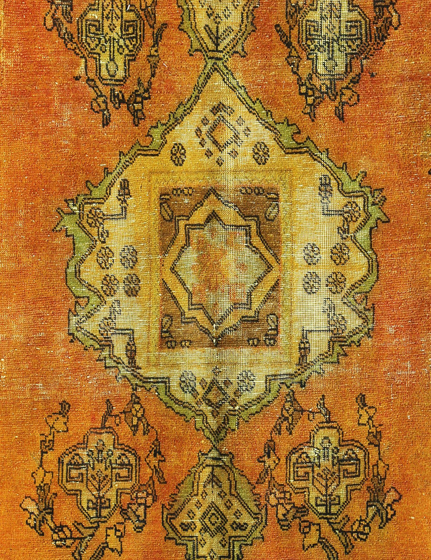 Tappeto Vintage  giallo <br/>224 x 143 cm