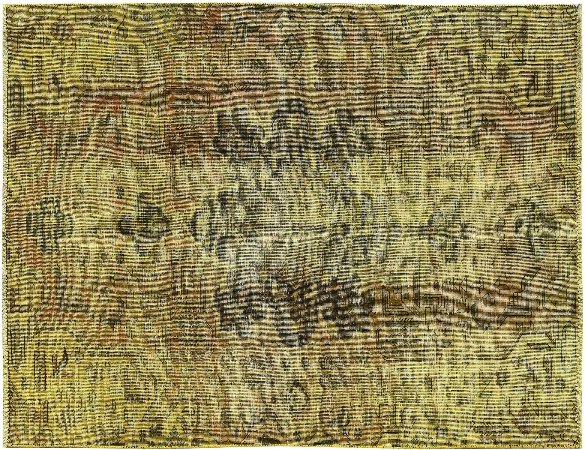 Tappeto Vintage  giallo <br/>240 x 147 cm