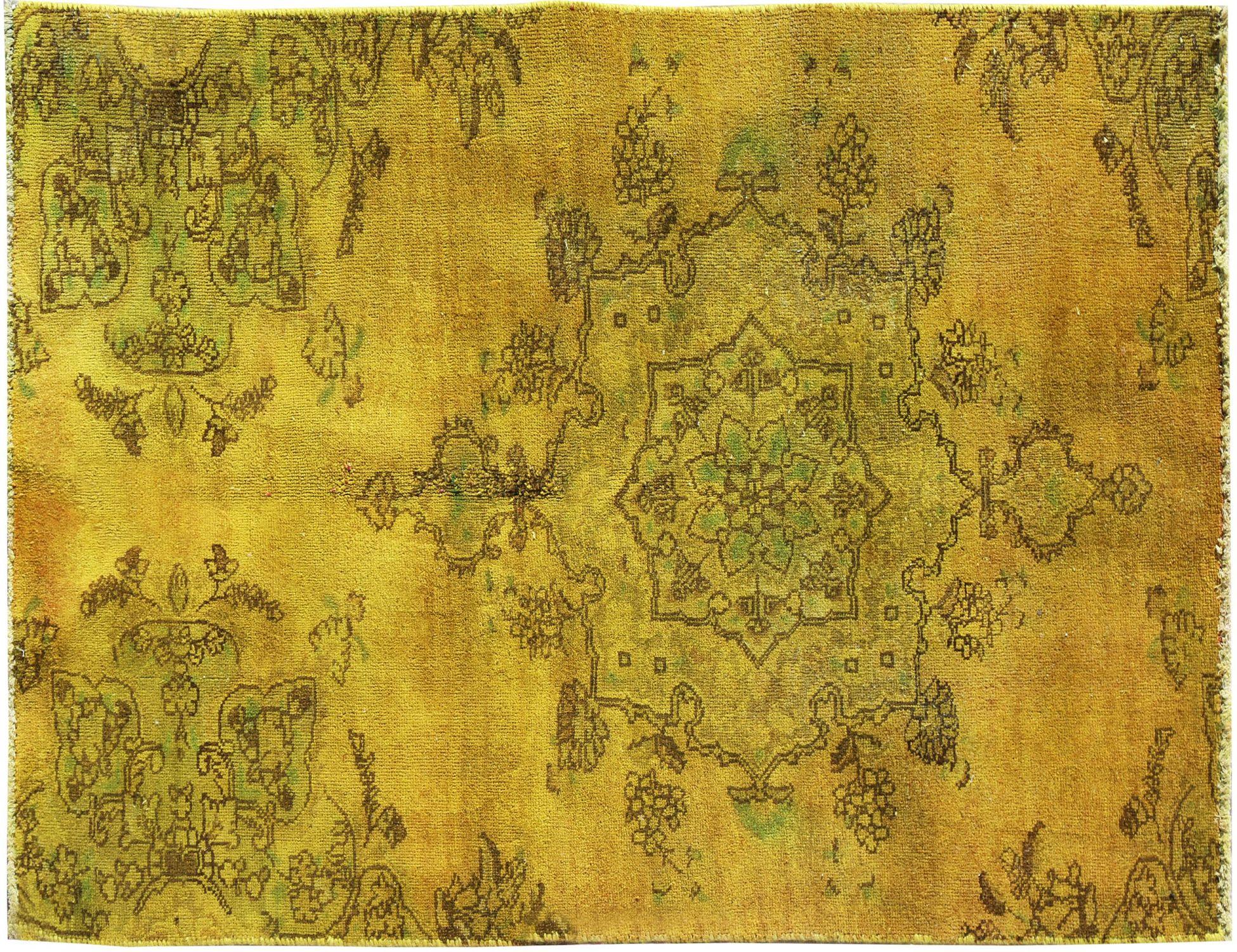 Tappeto Vintage  giallo <br/>180 x 103 cm