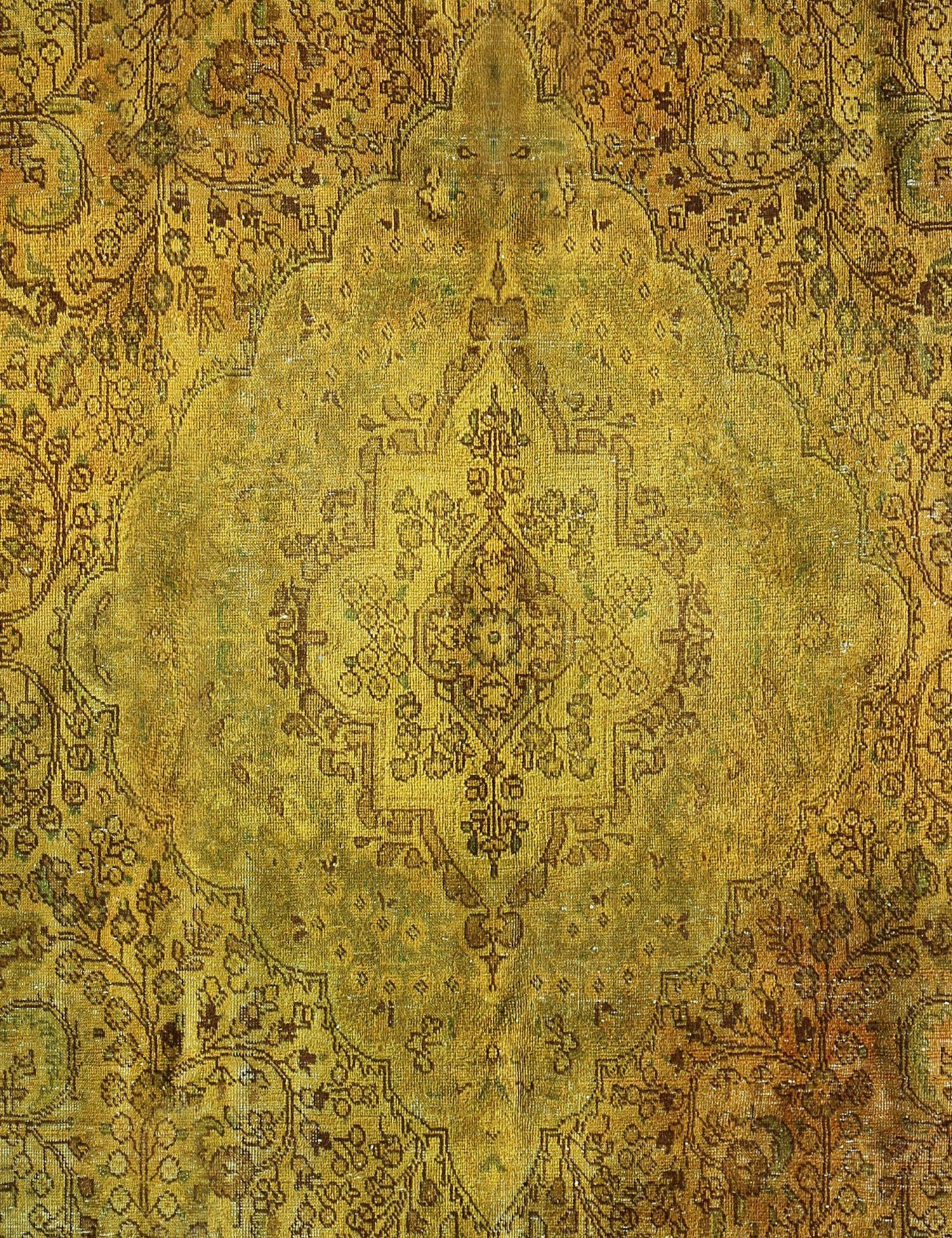 Tappeto Vintage  giallo <br/>348 x 245 cm