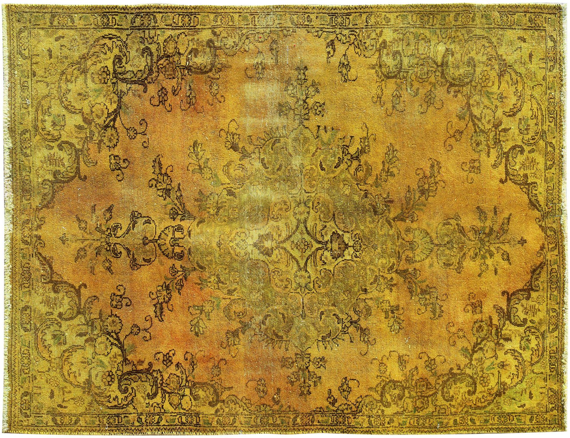 Vintage Teppich  gelb <br/>236 x 154 cm